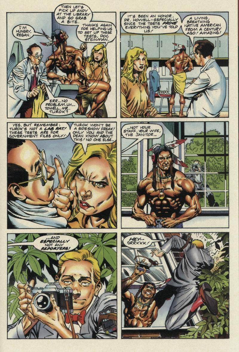 Read online Turok, Dinosaur Hunter (1993) comic -  Issue #13 - 21