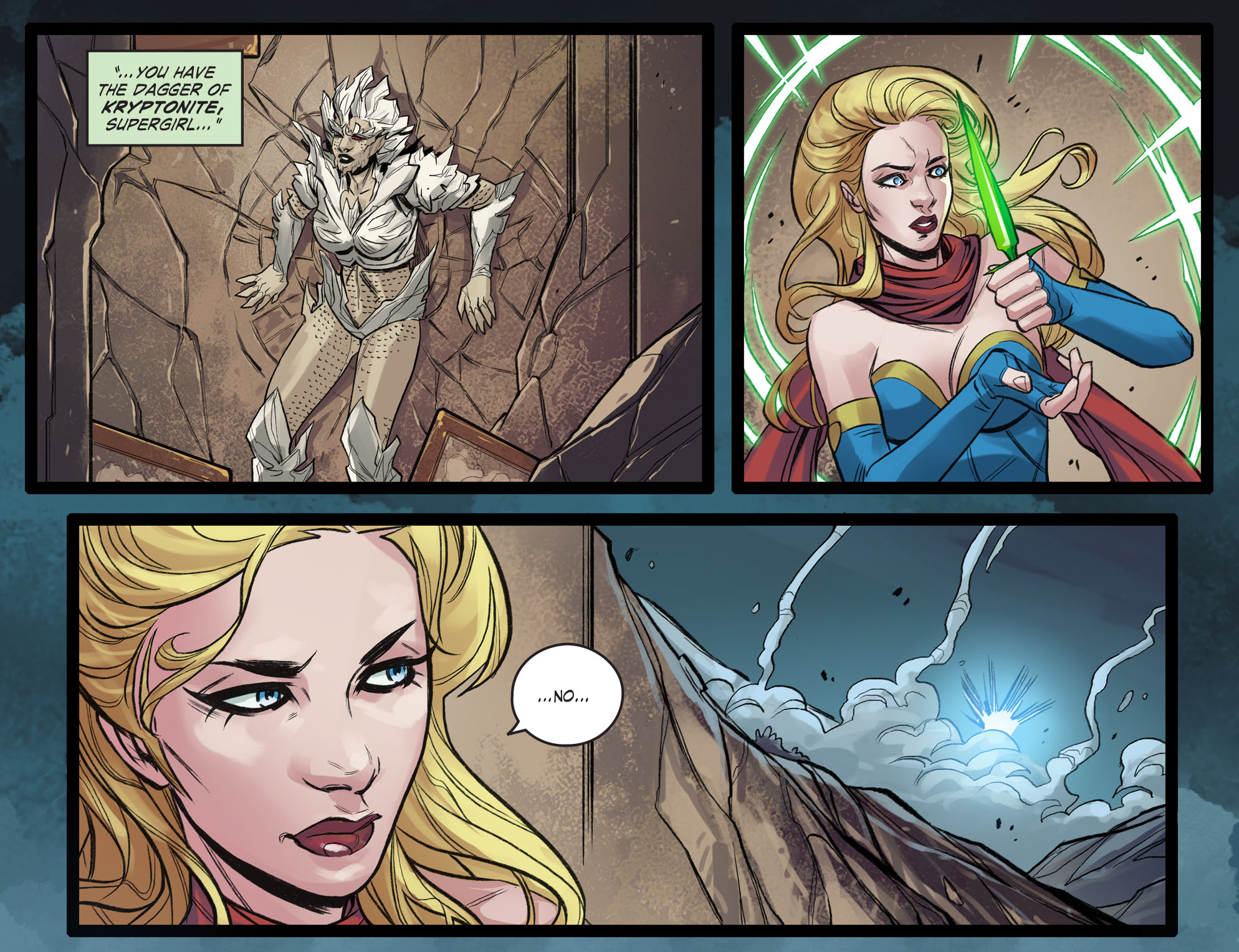 Read online DC Comics: Bombshells comic -  Issue #99 - 10