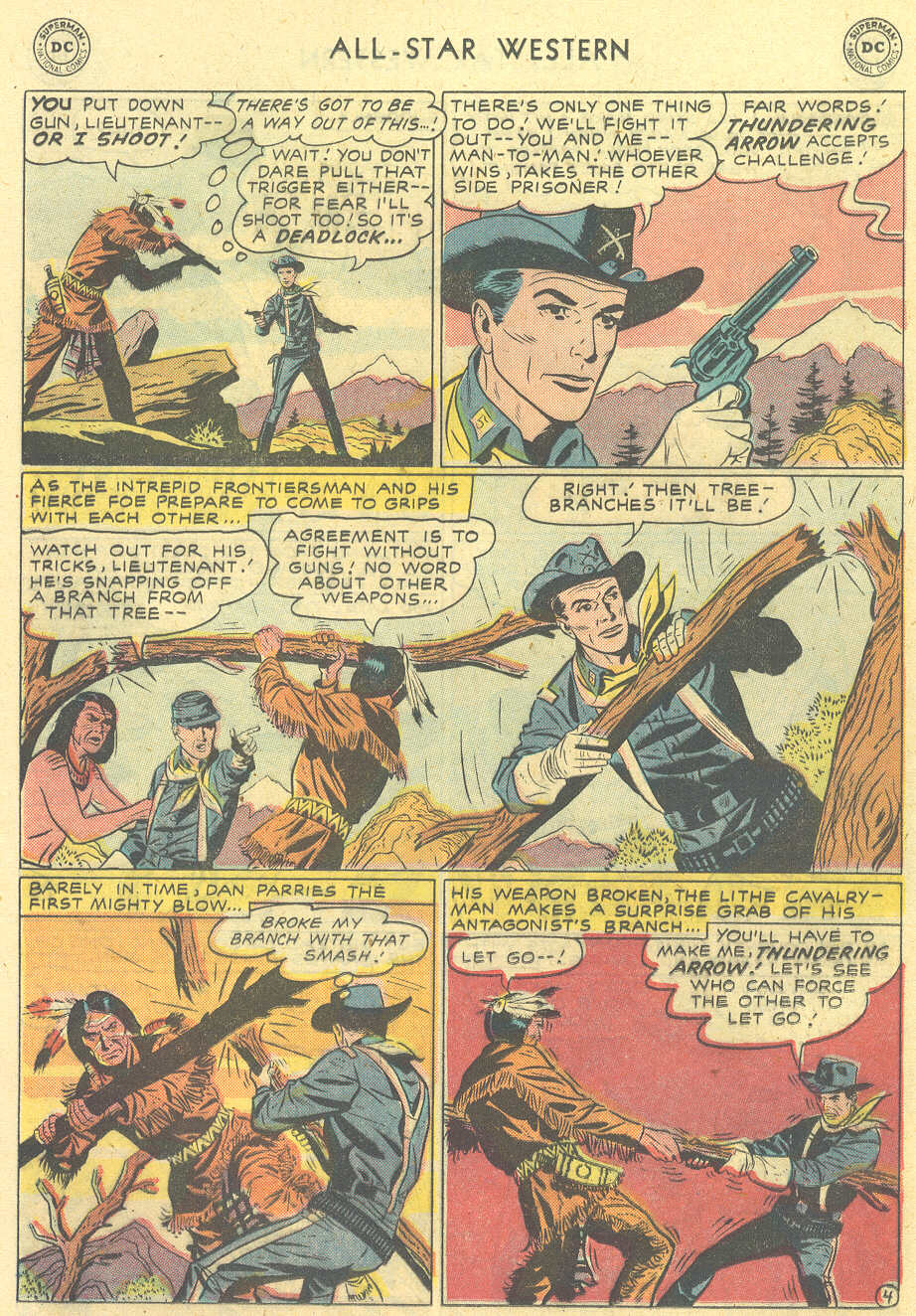 Read online All-Star Western (1951) comic -  Issue #101 - 20