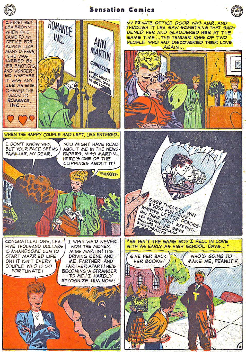 Read online Sensation (Mystery) Comics comic -  Issue #96 - 40