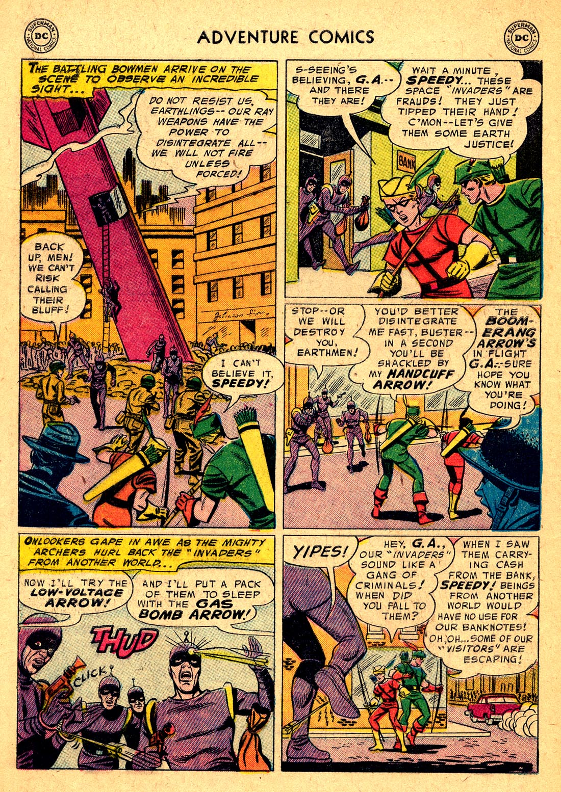 Read online Adventure Comics (1938) comic -  Issue #220 - 32