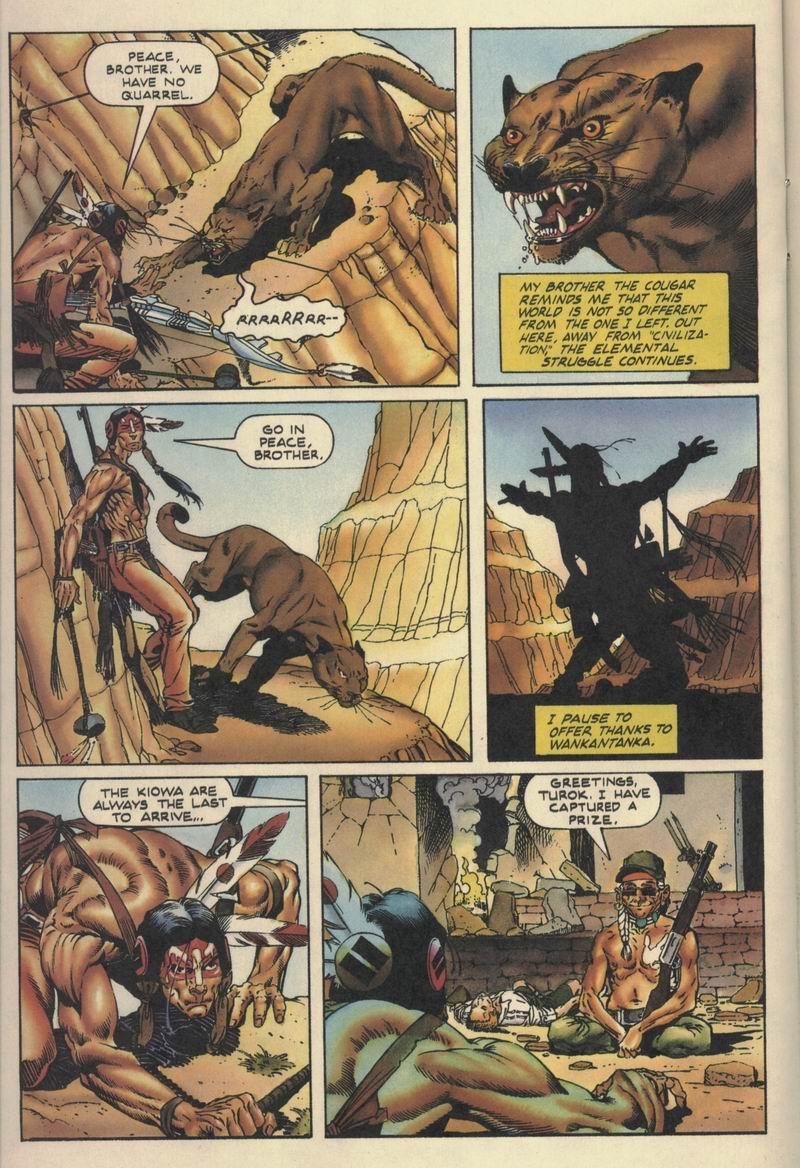 Read online Turok, Dinosaur Hunter (1993) comic -  Issue #10 - 14