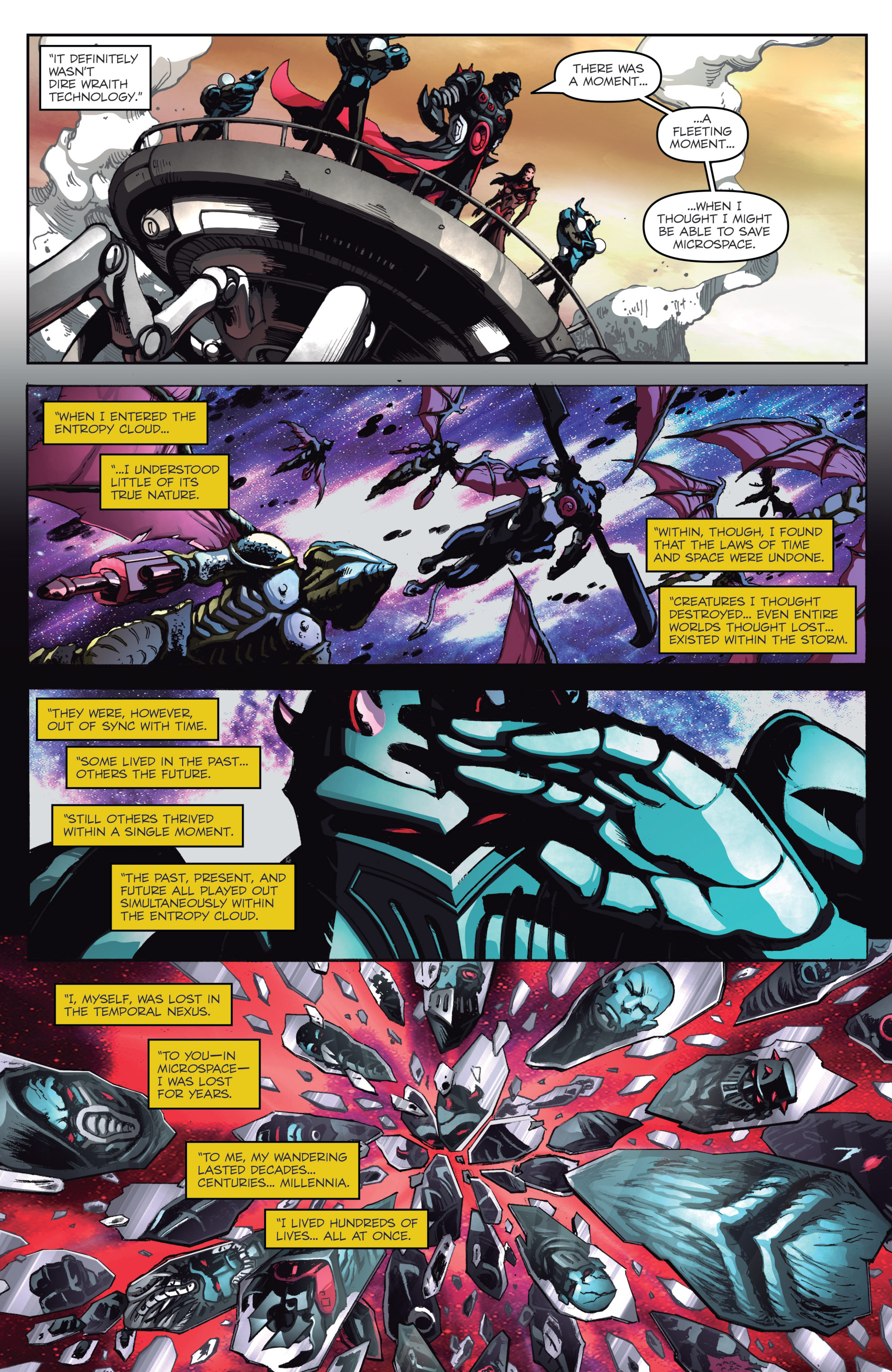 Read online Micronauts: Wrath of Karza comic -  Issue #1 - 14