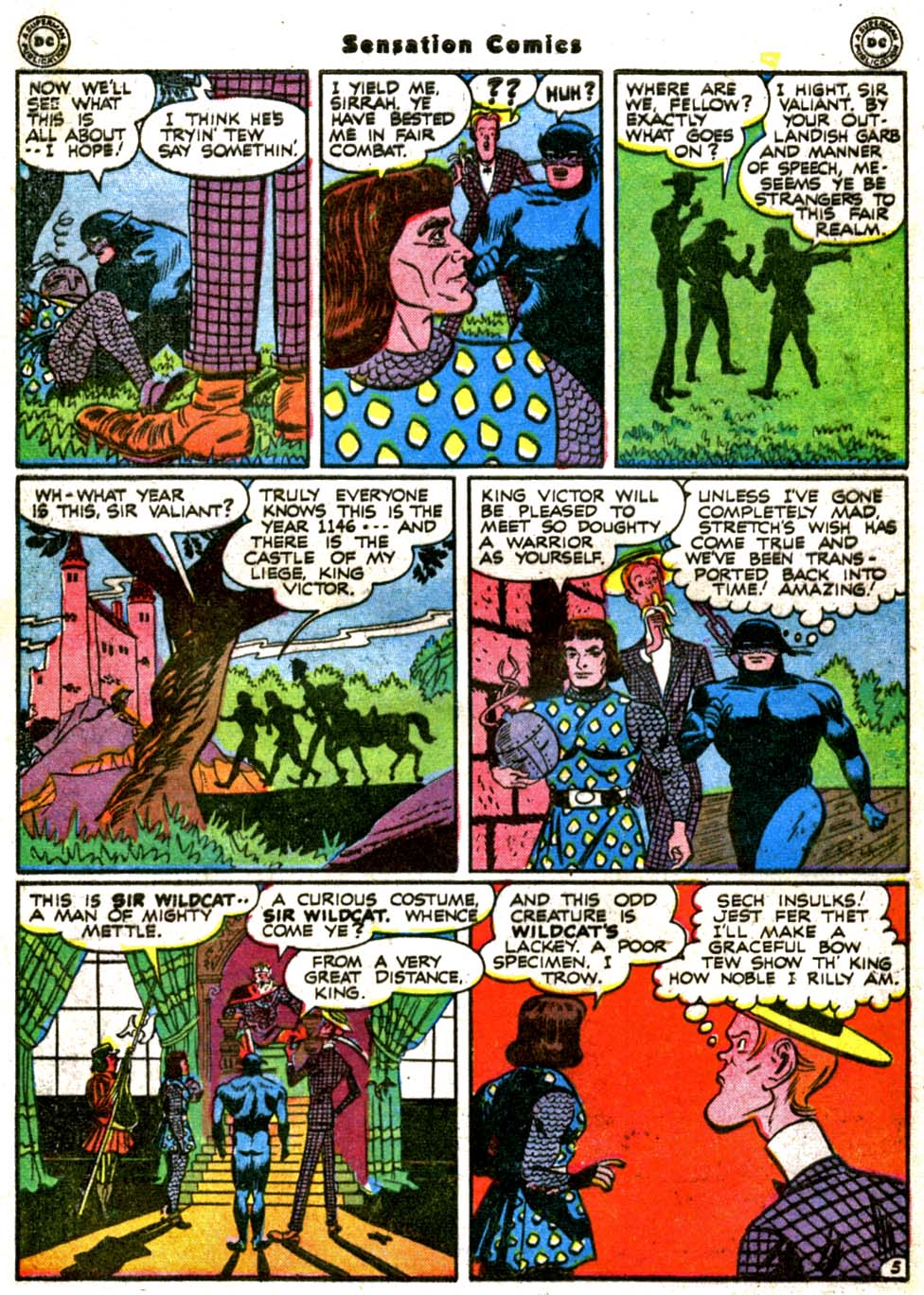 Read online Sensation (Mystery) Comics comic -  Issue #64 - 46
