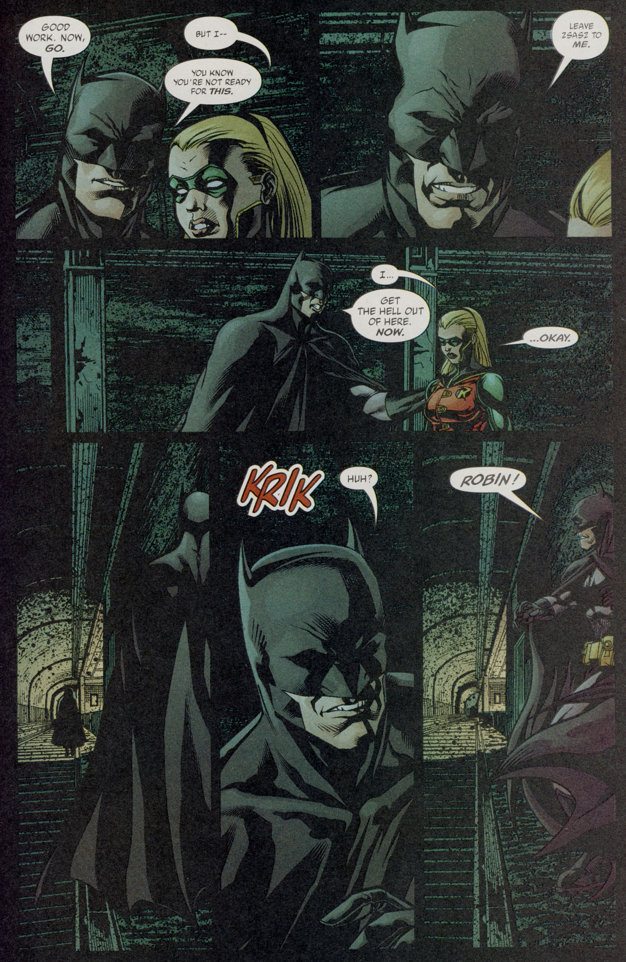 Read online Batman War Drums comic -  Issue # TPB - 188