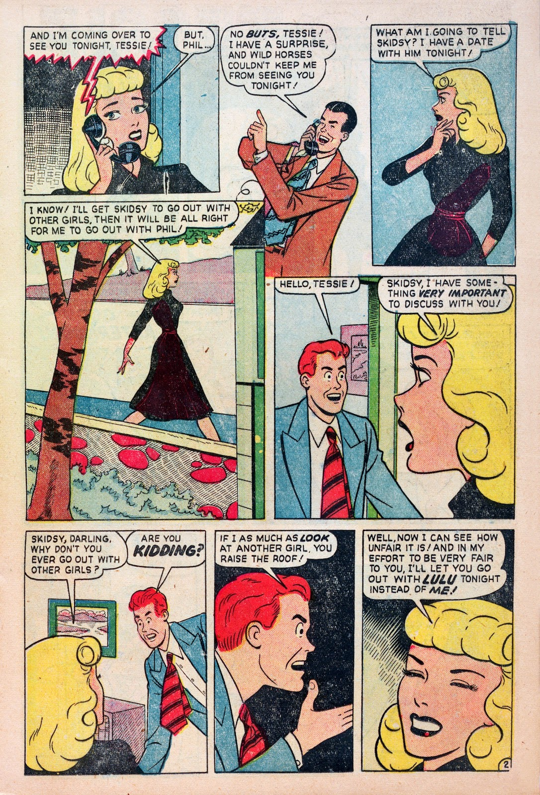 Read online Comedy Comics (1948) comic -  Issue #6 - 11