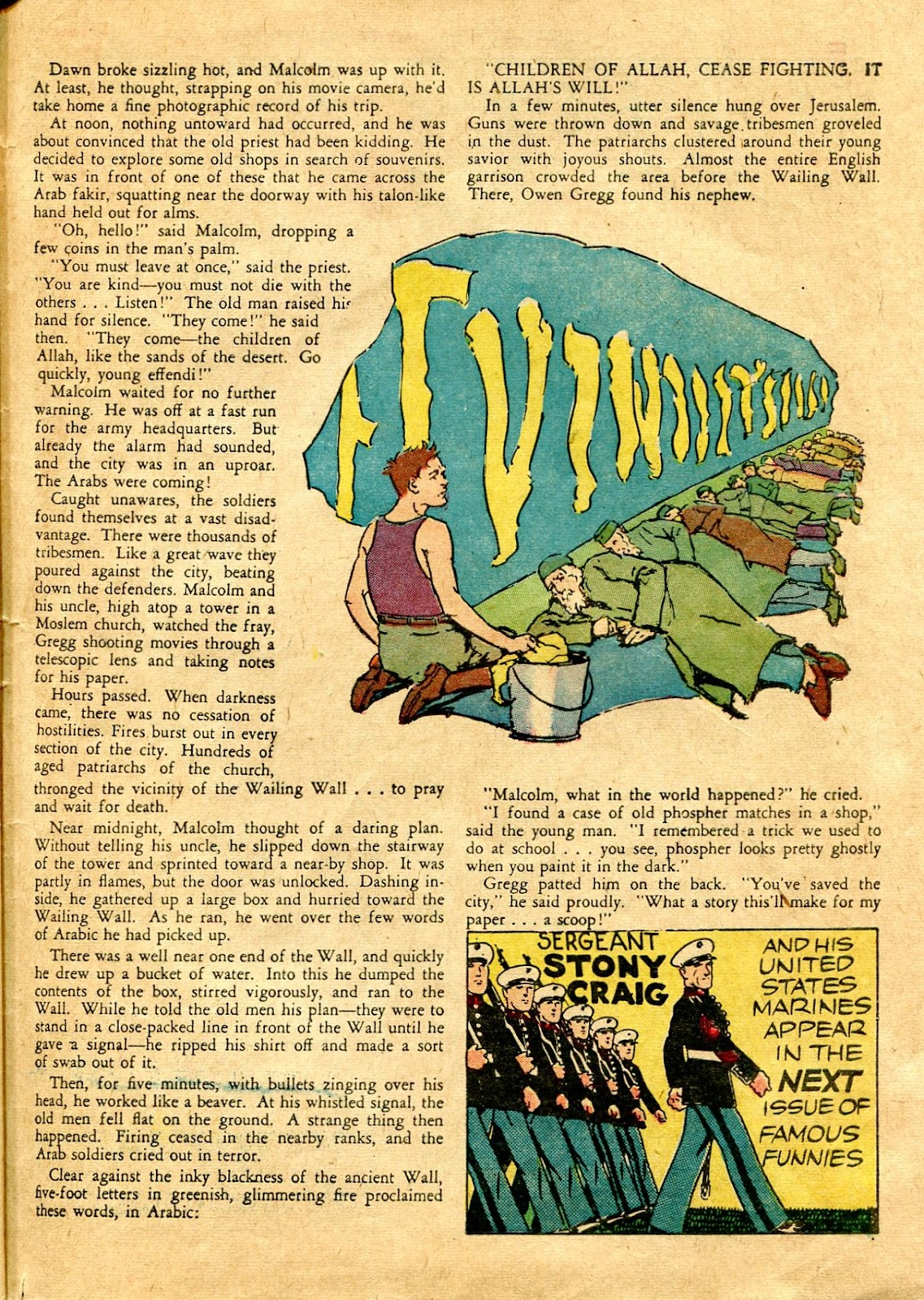Read online Famous Funnies comic -  Issue #64 - 60