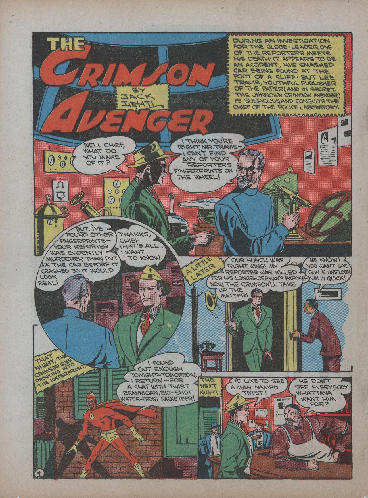 Read online Detective Comics (1937) comic -  Issue #48 - 52