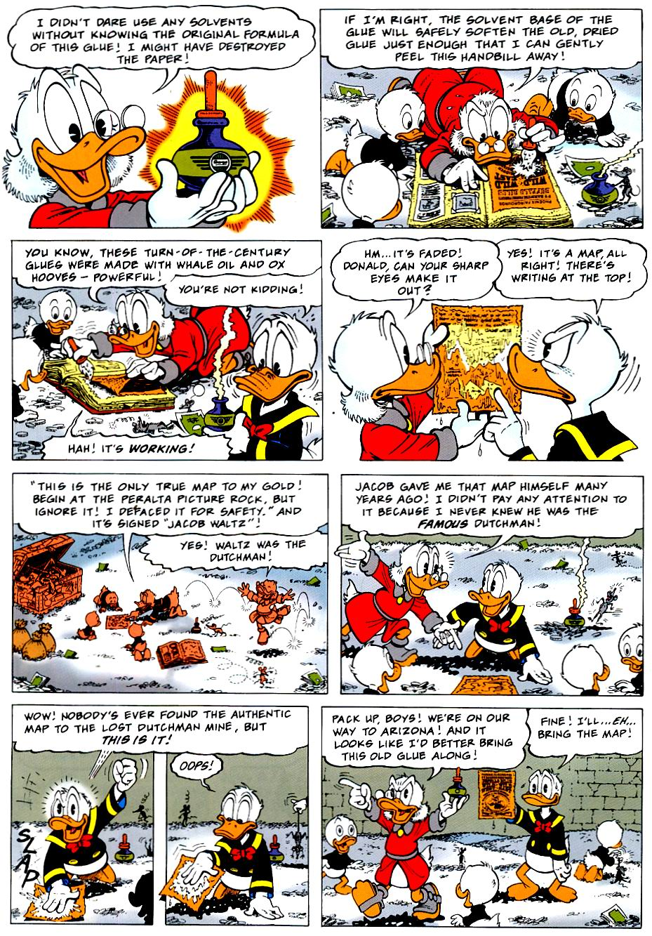 Read online Uncle Scrooge (1953) comic -  Issue #319 - 4
