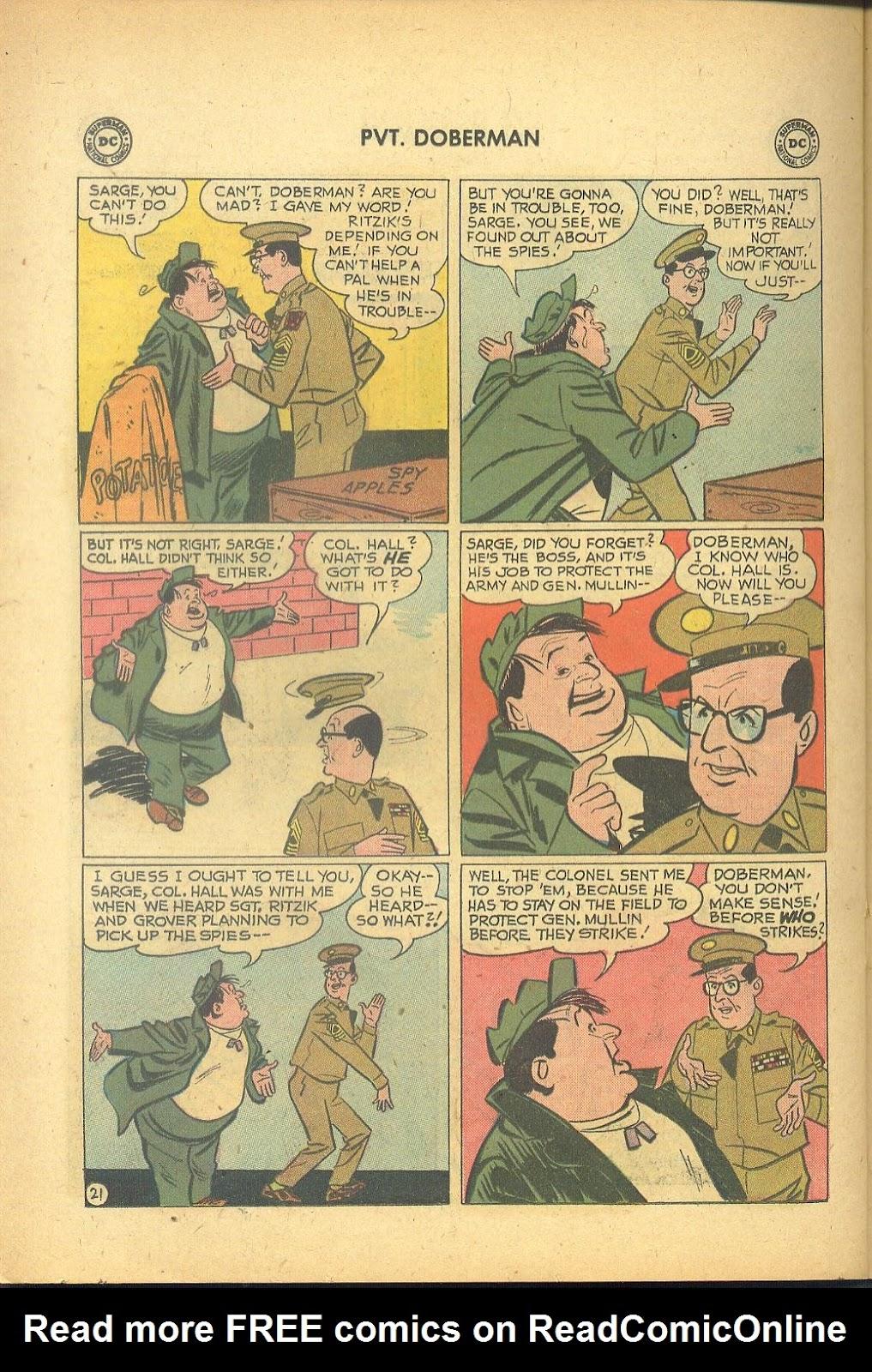 Sgt. Bilko's Pvt. Doberman issue 1 - Page 26