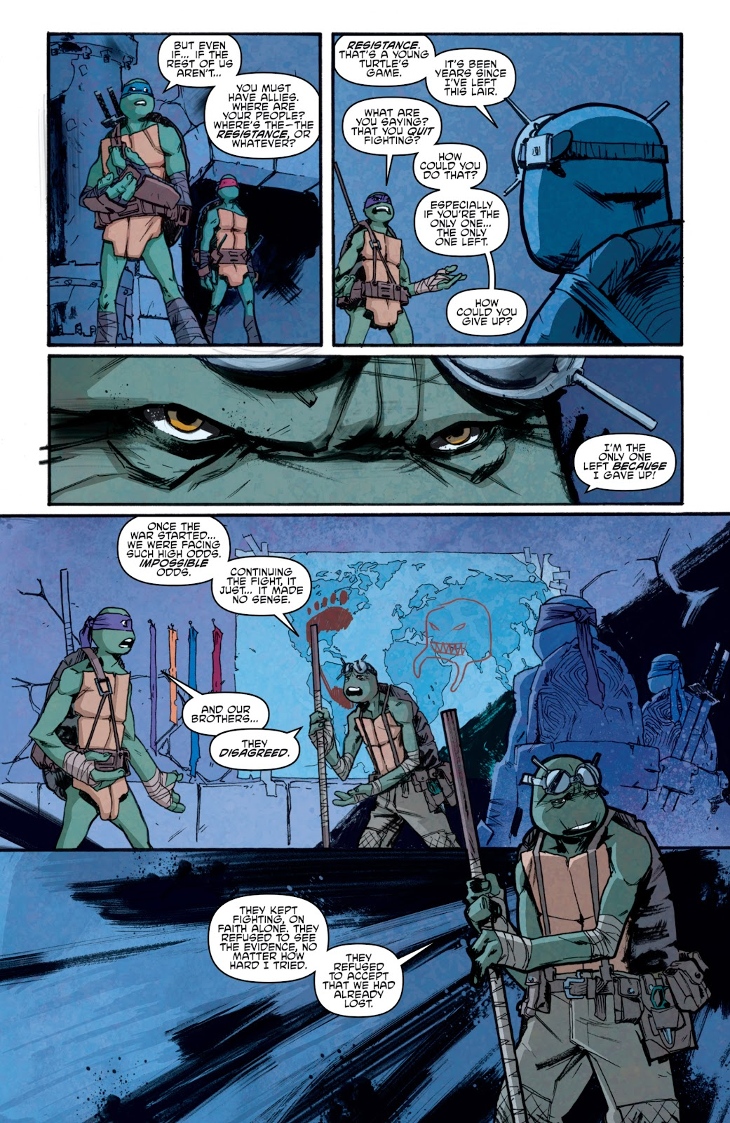 Read online Teenage Mutant Ninja Turtles: The IDW Collection comic -  Issue # TPB 5 (Part 1) - 84