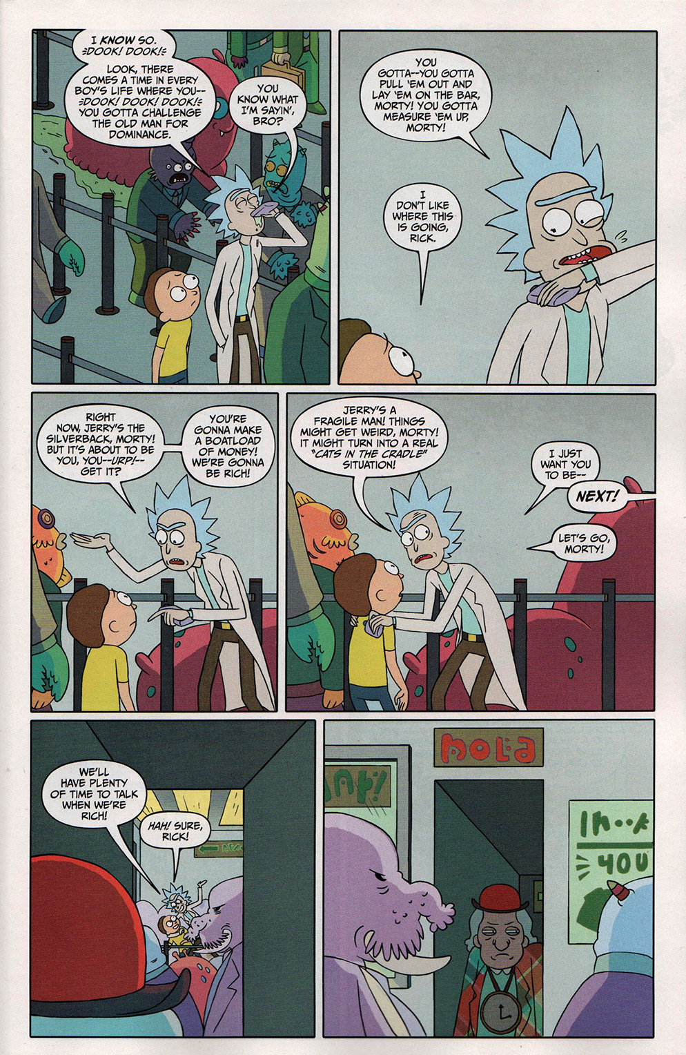 Read online Free Comic Book Day 2017 comic -  Issue # Rick and Morty - 9