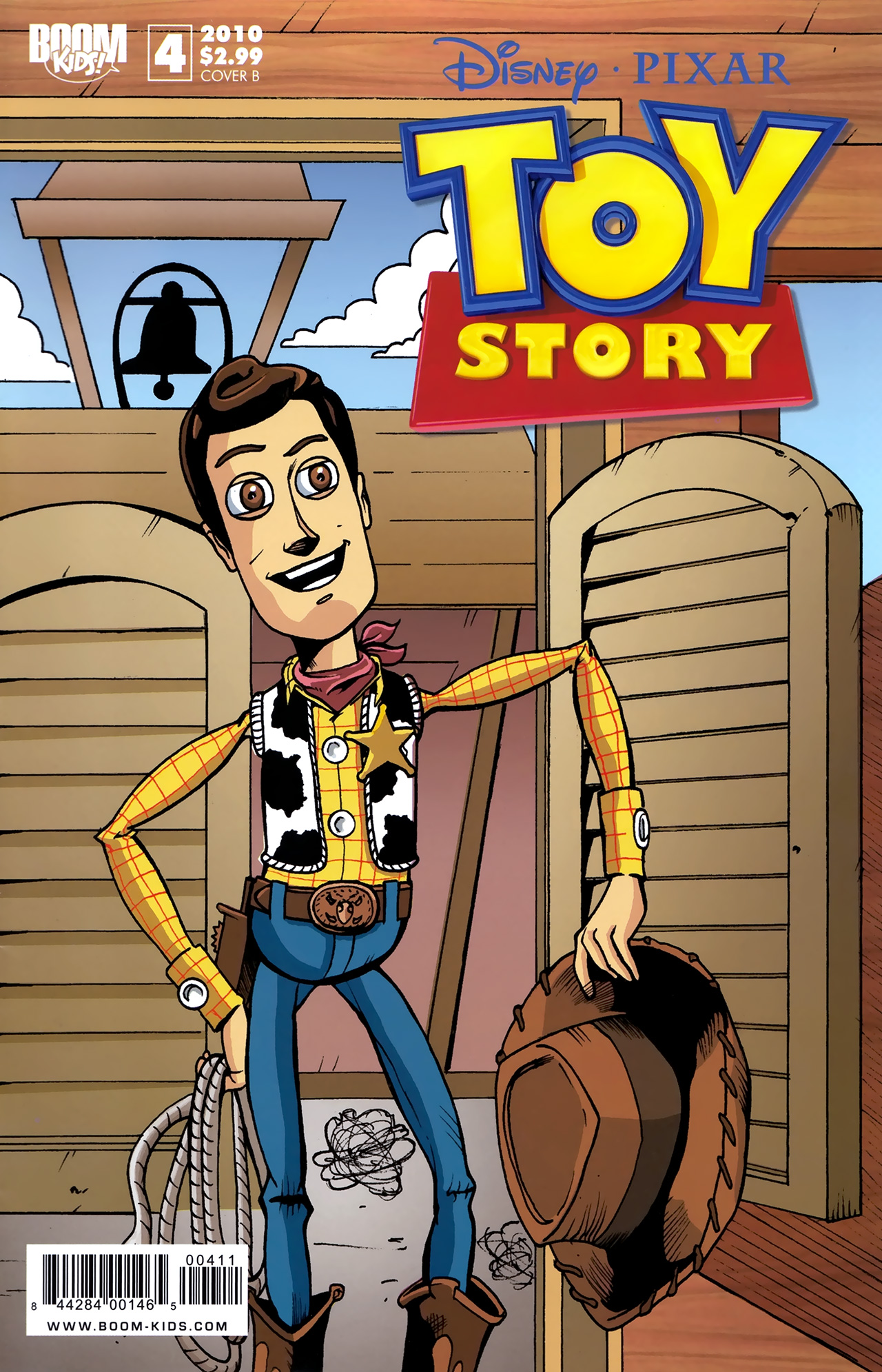 Read online Toy Story (2009) comic -  Issue #4 - 2