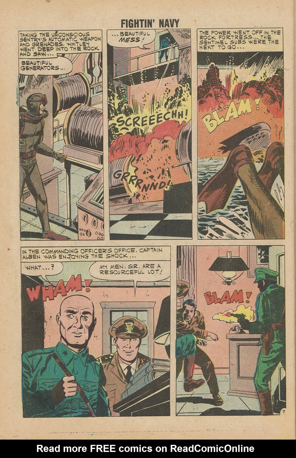 Read online Fightin' Navy comic -  Issue #98 - 32