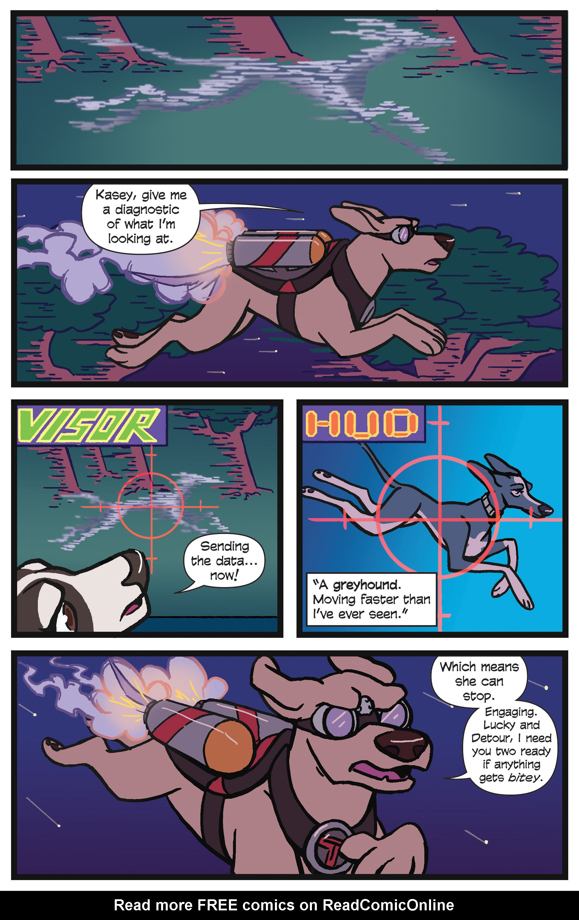 Read online Action Lab, Dog of Wonder comic -  Issue #4 - 15