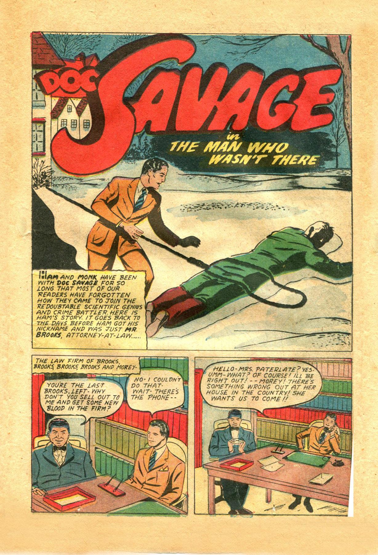 Read online Shadow Comics comic -  Issue #48 - 17