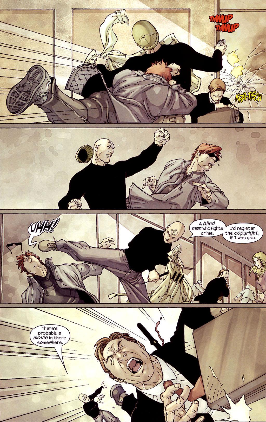 Read online Ultimate Elektra comic -  Issue #4 - 21