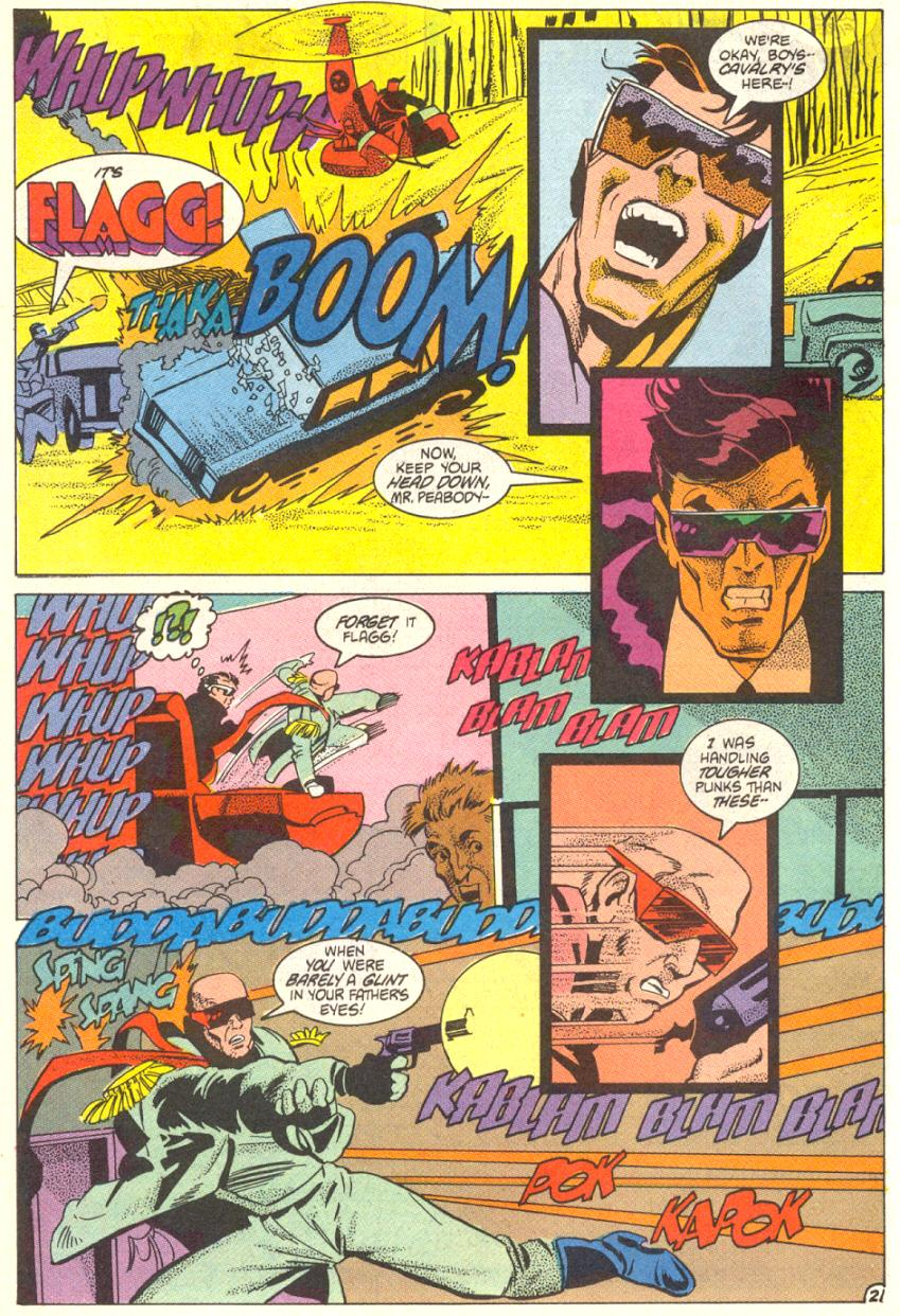Read online American Flagg! comic -  Issue #14 - 22