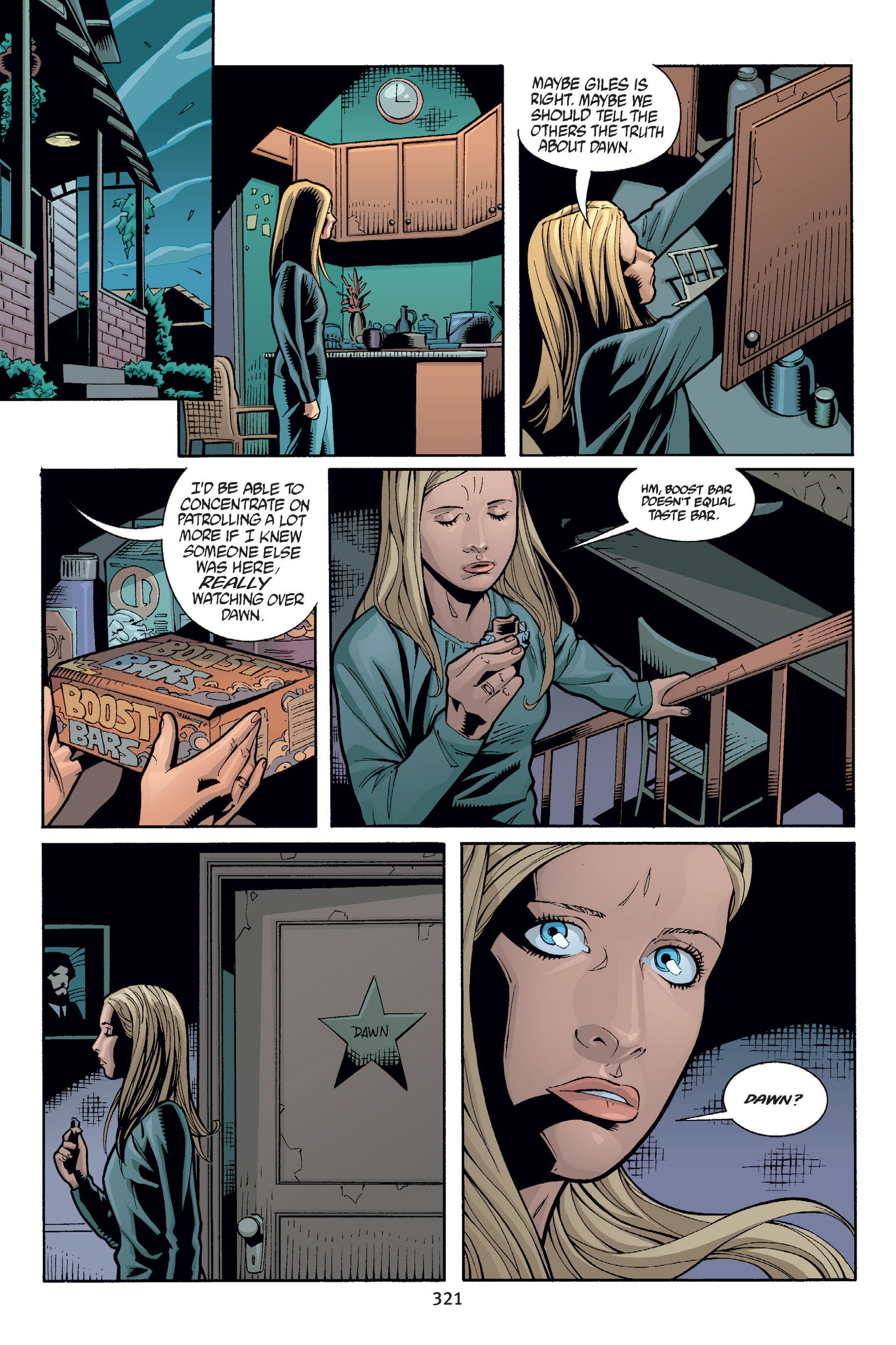 Read online Buffy the Vampire Slayer: Omnibus comic -  Issue # TPB 6 - 318