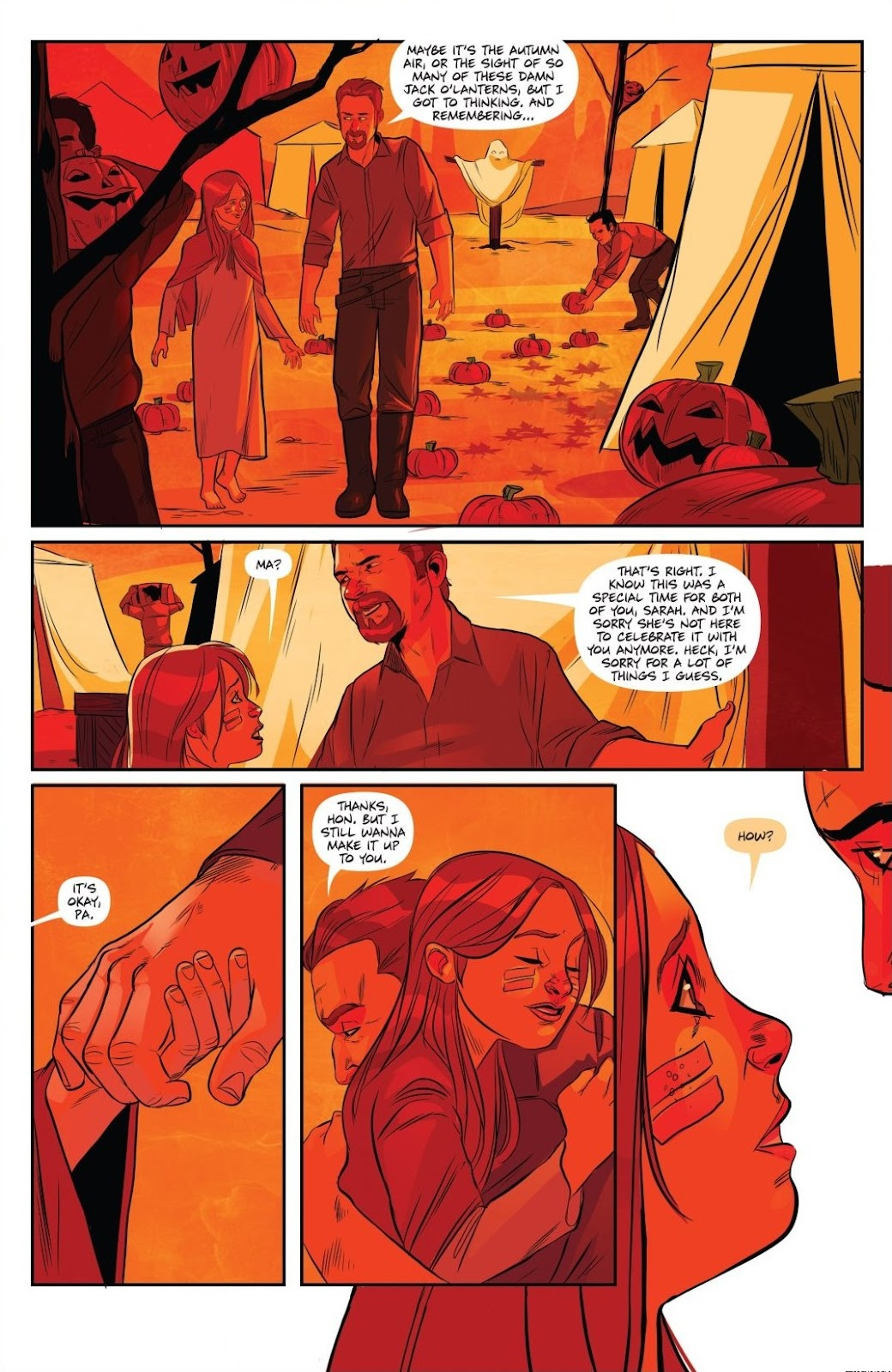 Read online Trick 'r Treat: Days of the Dead comic -  Issue # TPB - 53