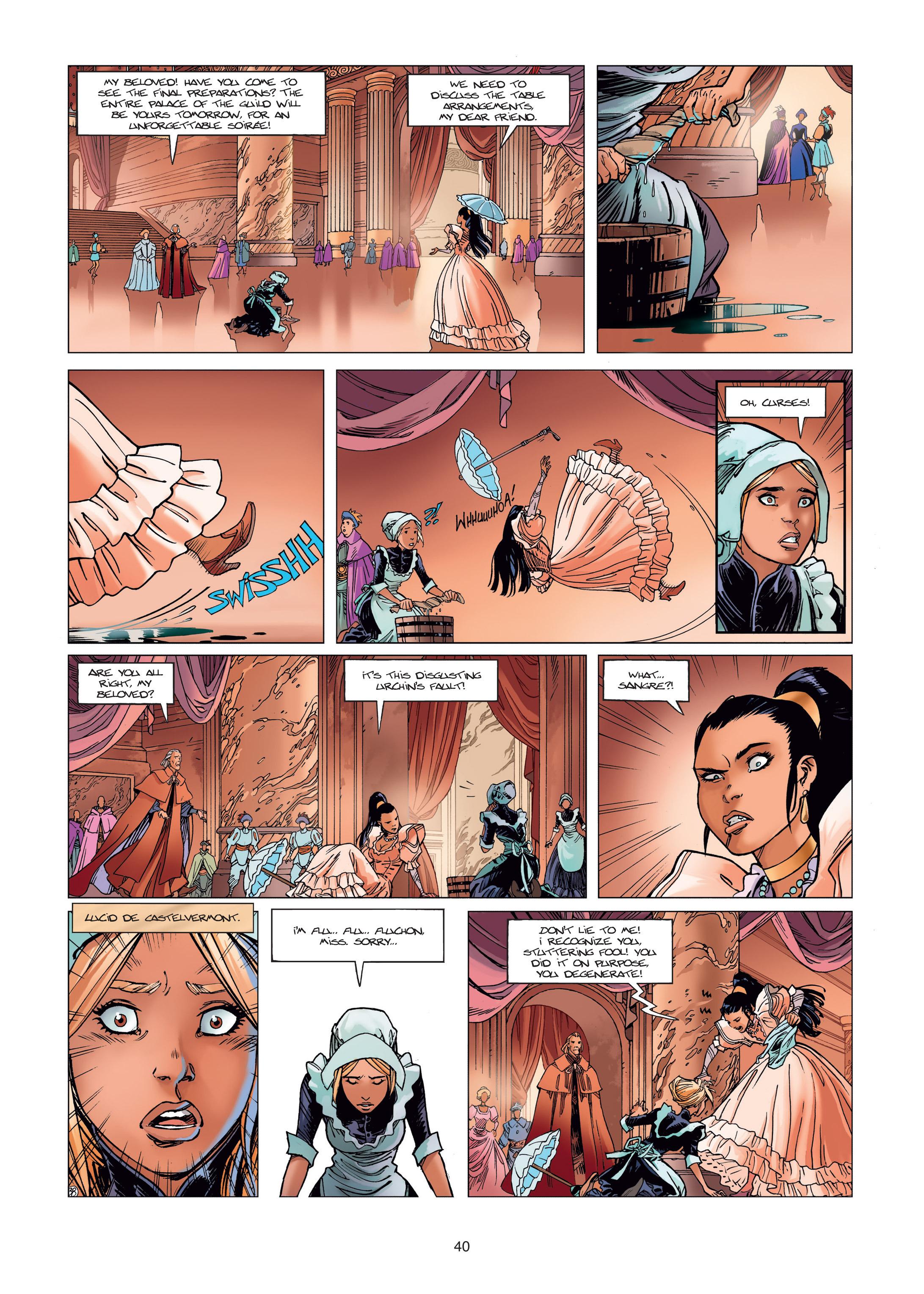 Read online Sangre Vol. 1: Sangre the Survivor comic -  Issue # Full - 40