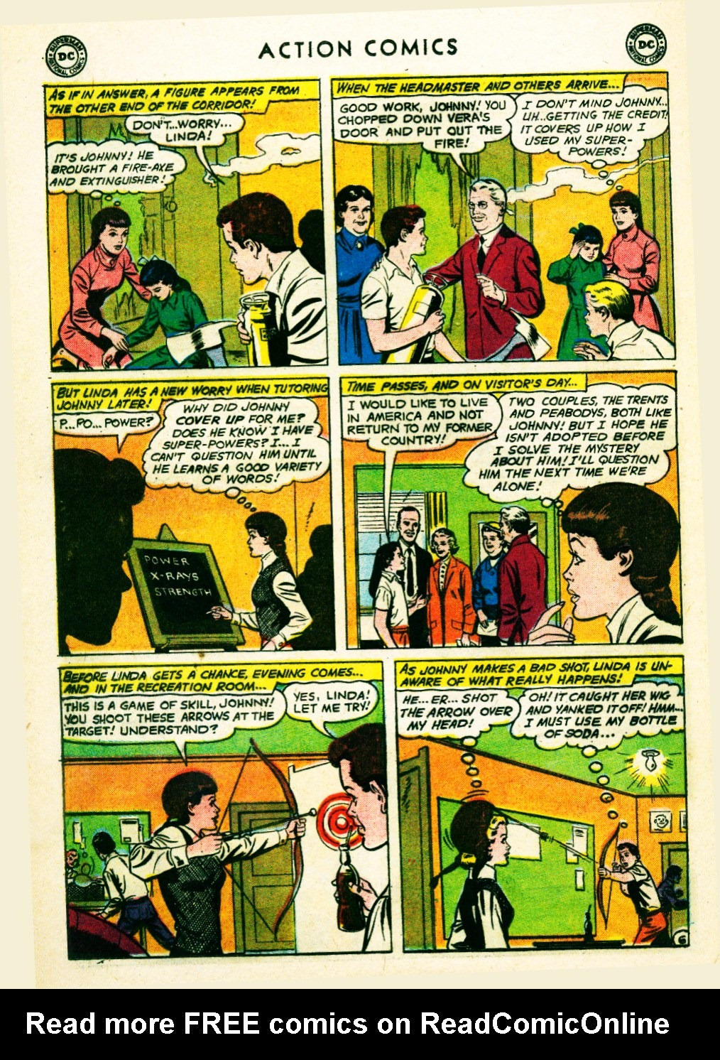 Read online Action Comics (1938) comic -  Issue #263 - 24