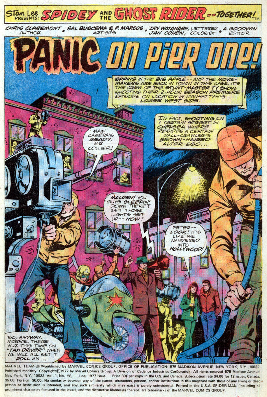 Marvel Team-Up (1972) 58 Page 2