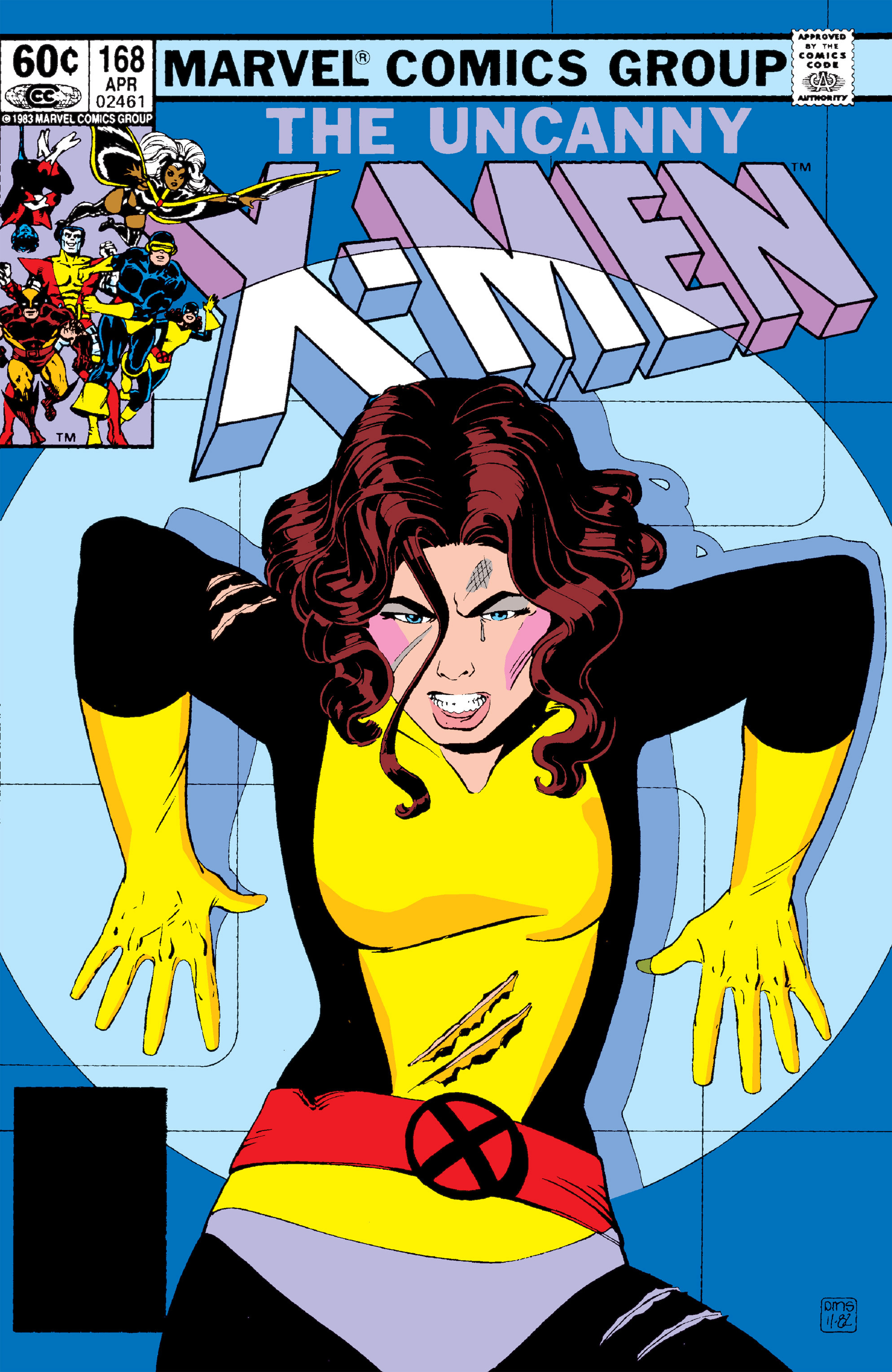 Uncanny X-Men (1963) 168 Page 1