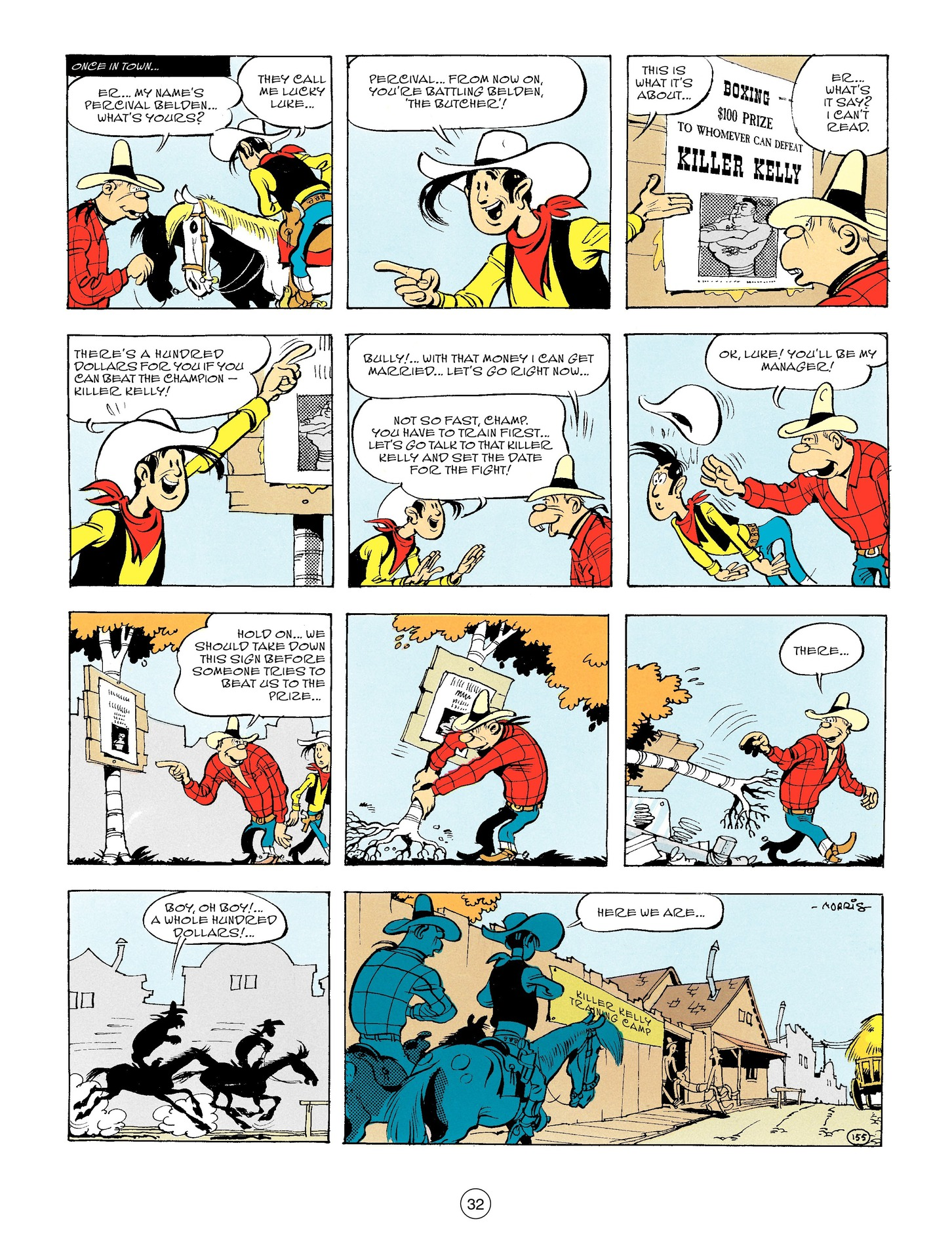 Read online A Lucky Luke Adventure comic -  Issue #56 - 32