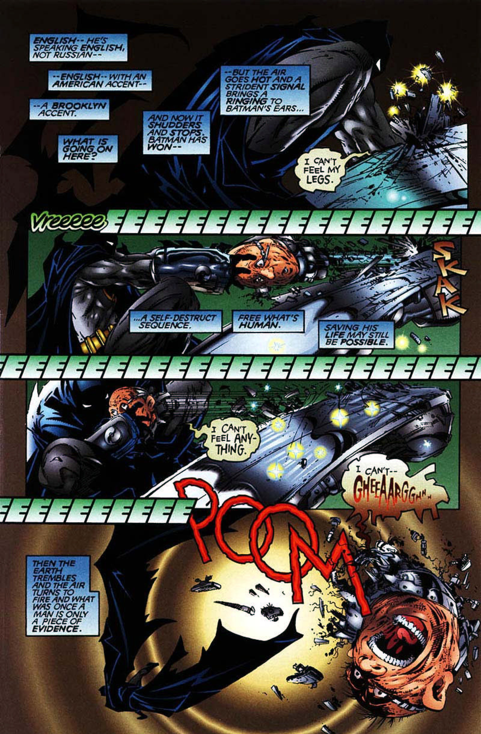 Read online Spawn-Batman comic -  Issue # Full - 9