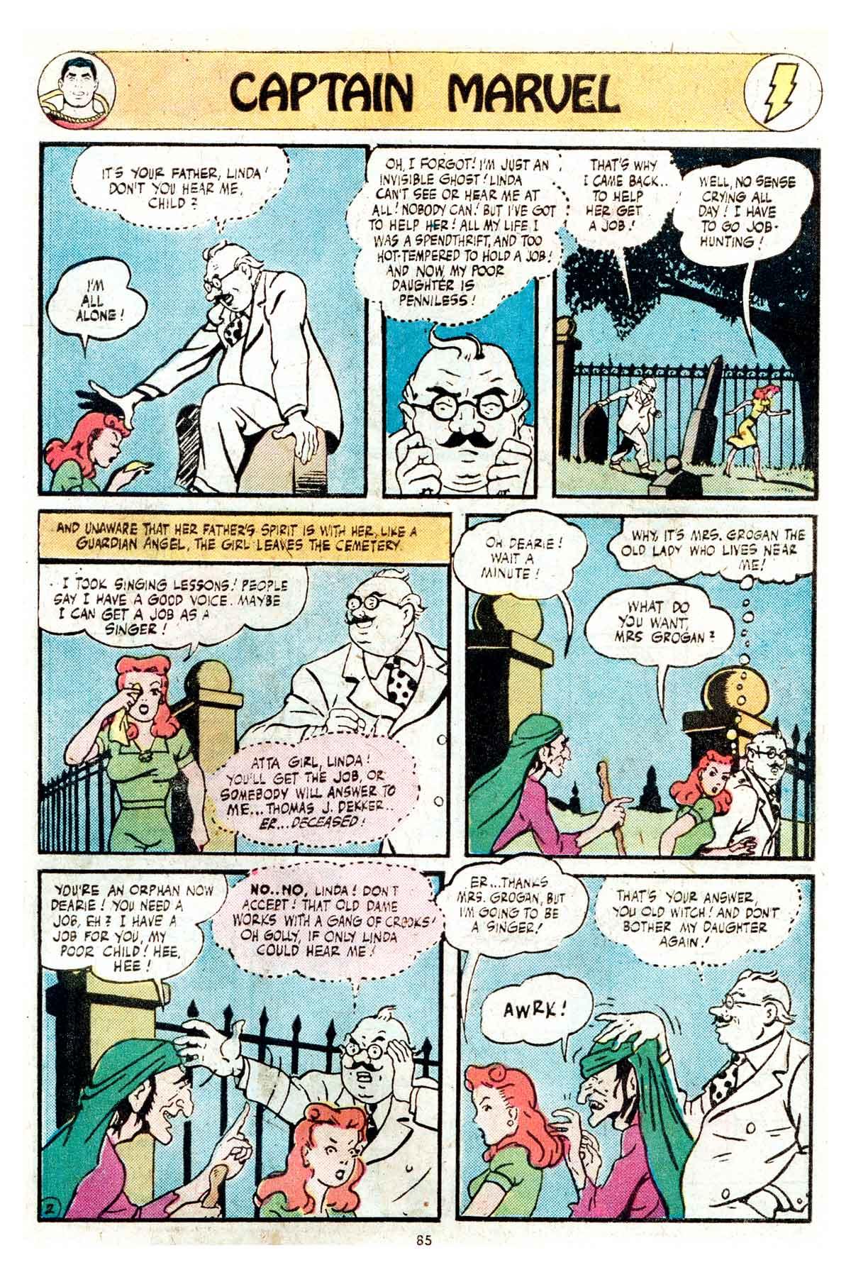 Read online Shazam! (1973) comic -  Issue #17 - 85