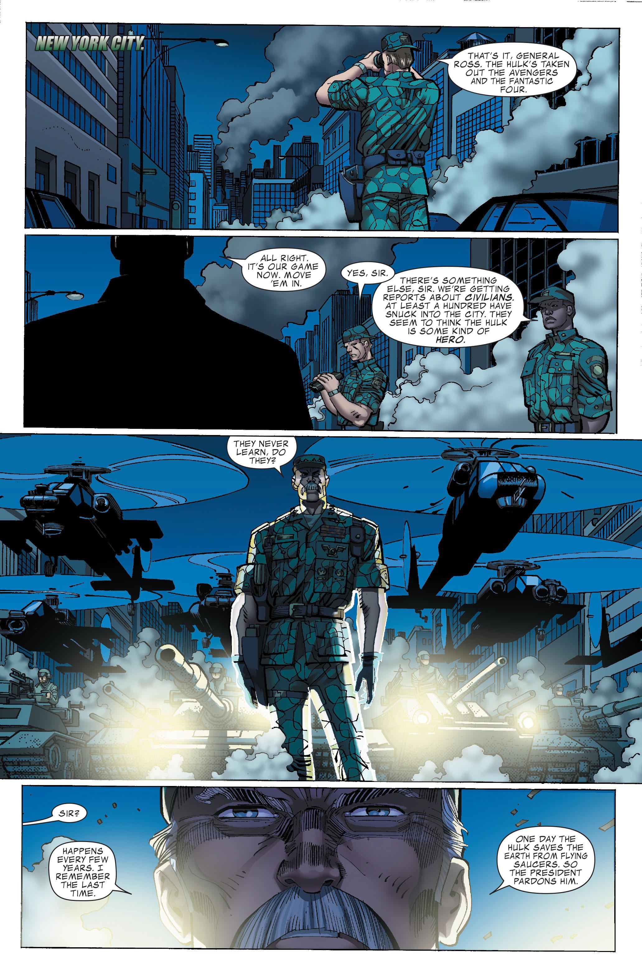 Read online World War Hulk comic -  Issue #3 - 3