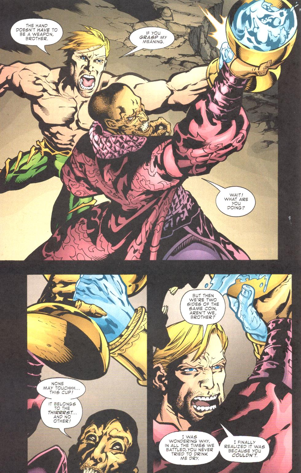 Read online Aquaman (2003) comic -  Issue #11 - 14
