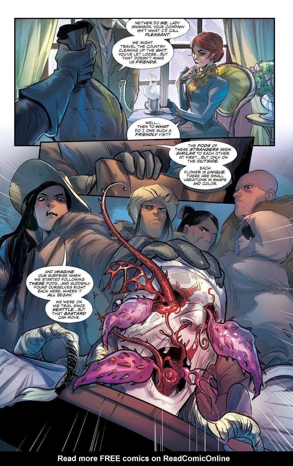 Read online Mirka Andolfo's Mercy comic -  Issue #3 - 11