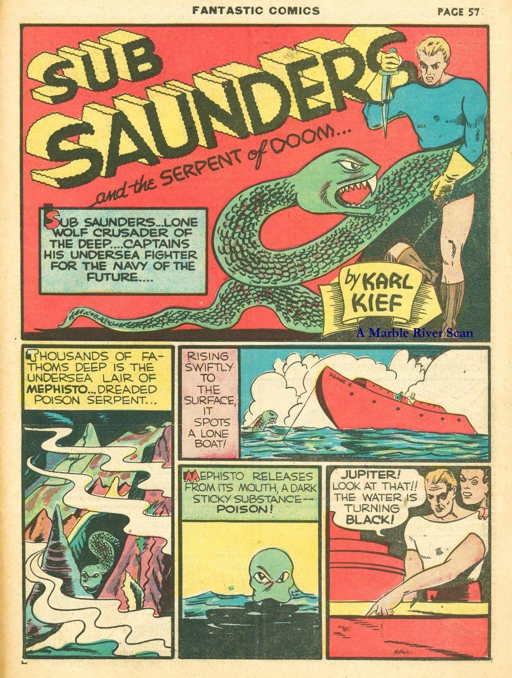 Read online Fantastic Comics comic -  Issue #12 - 59