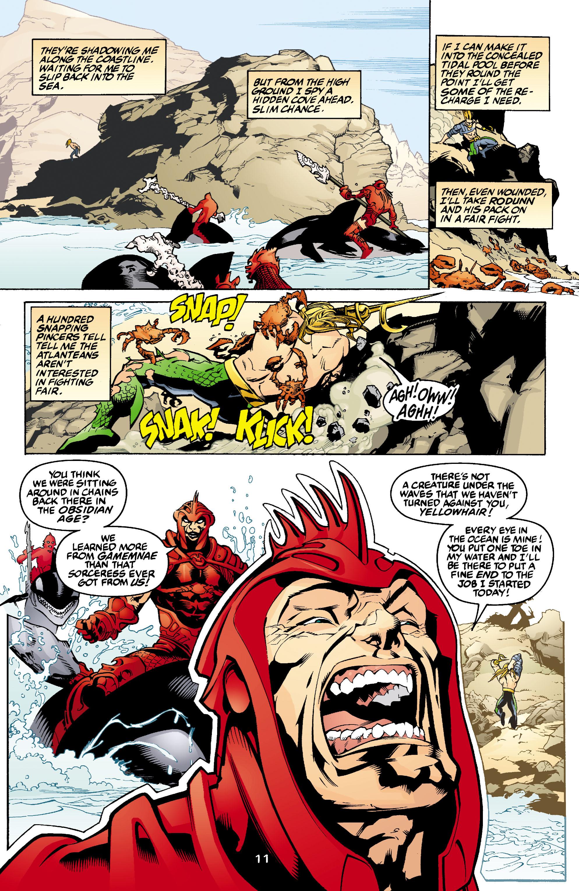 Read online Aquaman (2003) comic -  Issue #1 - 12
