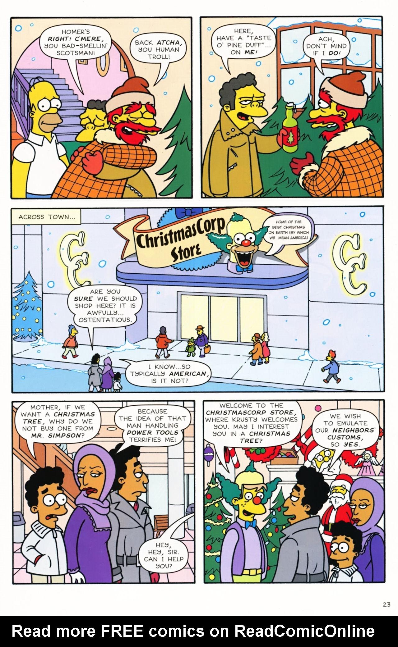 Read online Simpsons Comics comic -  Issue #172 - 25