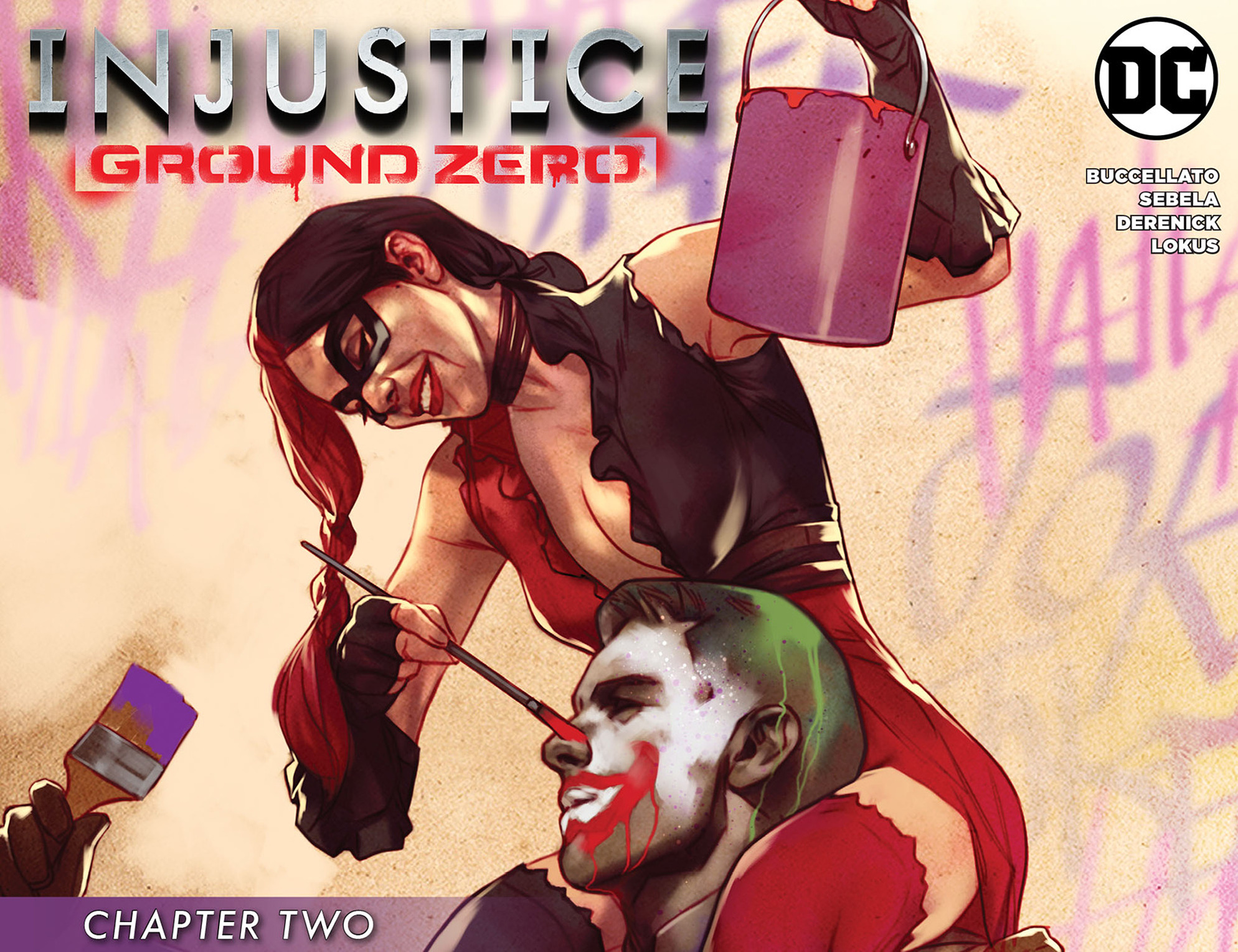 Read online Injustice: Ground Zero comic -  Issue #2 - 1