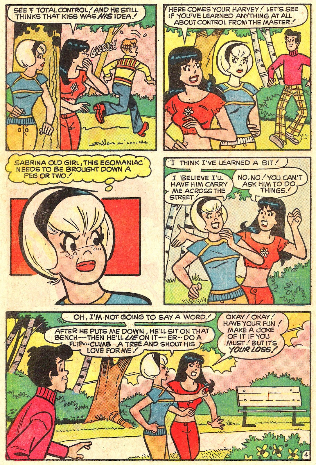 Sabrina The Teenage Witch (1971) Issue #16 #16 - English 22