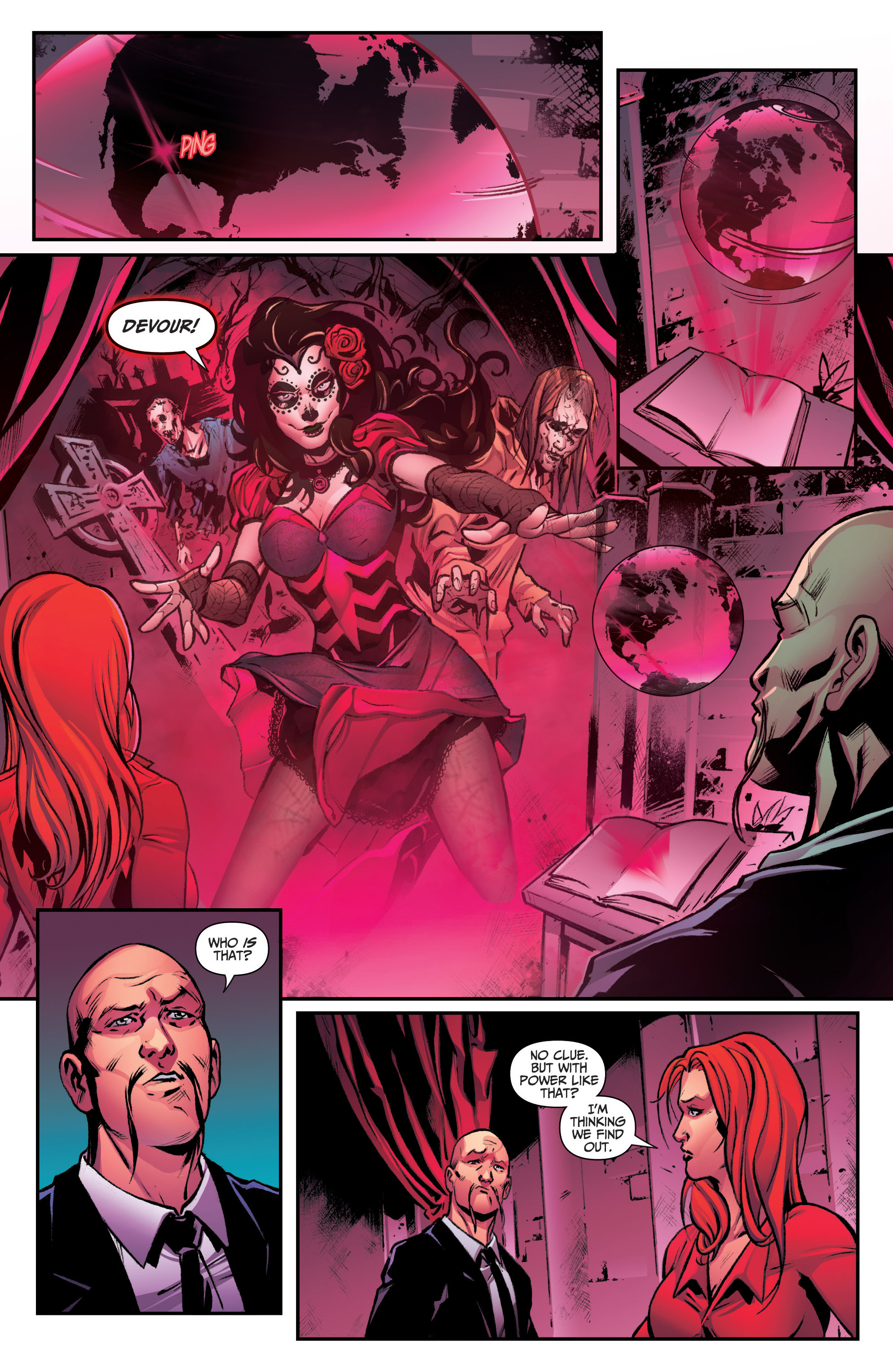 Read online Grimm Fairy Tales: Arcane Acre comic -  Issue # TPB 3 - 14