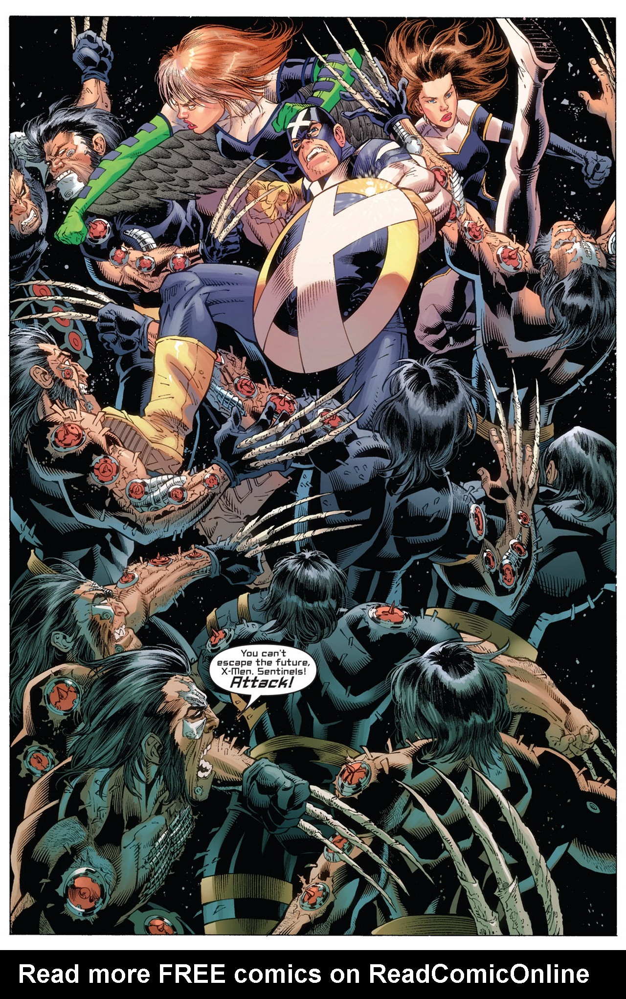 Read online Ultimate X-Men/Ultimate Fantastic Four Annual comic -  Issue # Full - 23