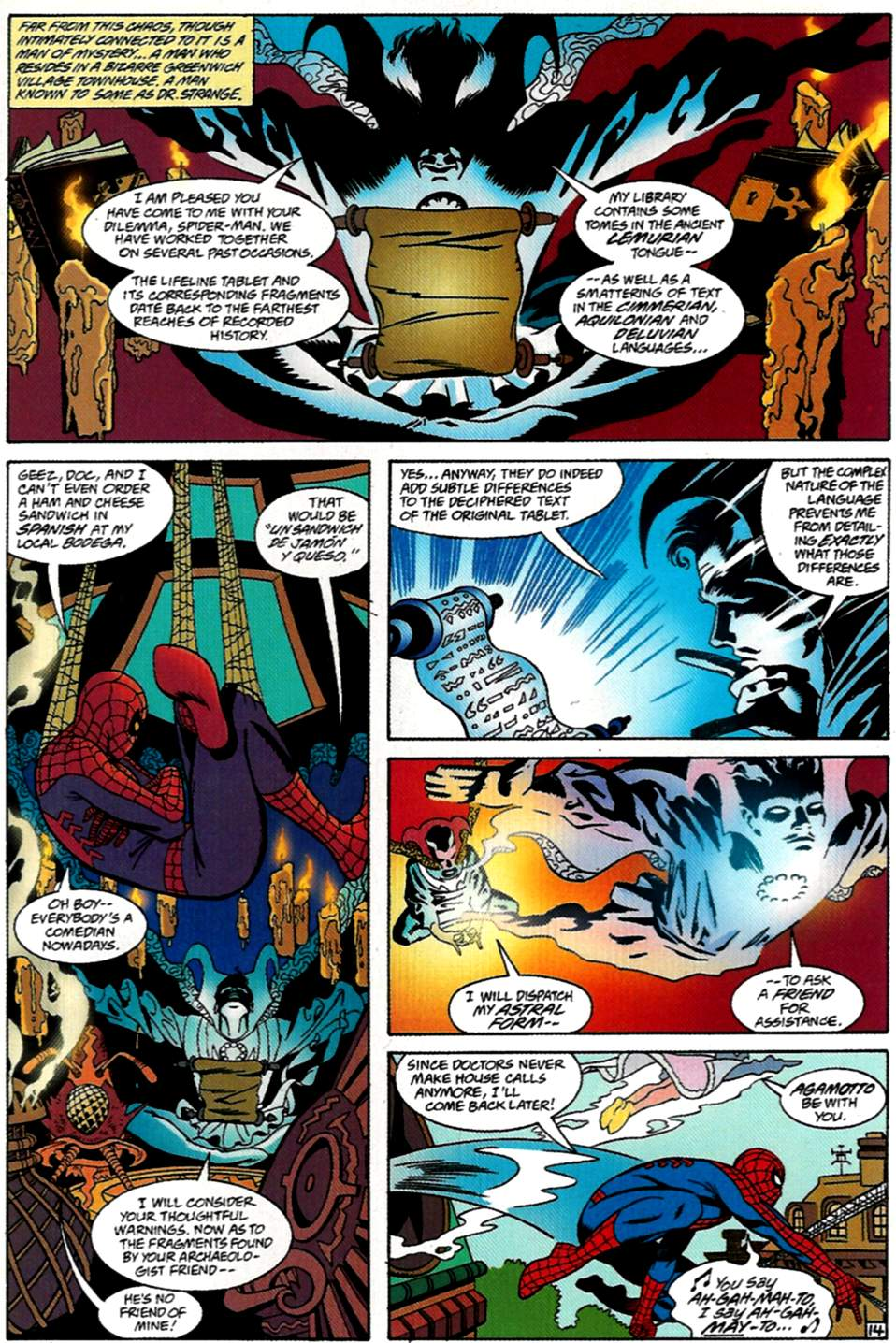 Read online Spider-Man: Lifeline comic -  Issue #1 - 15