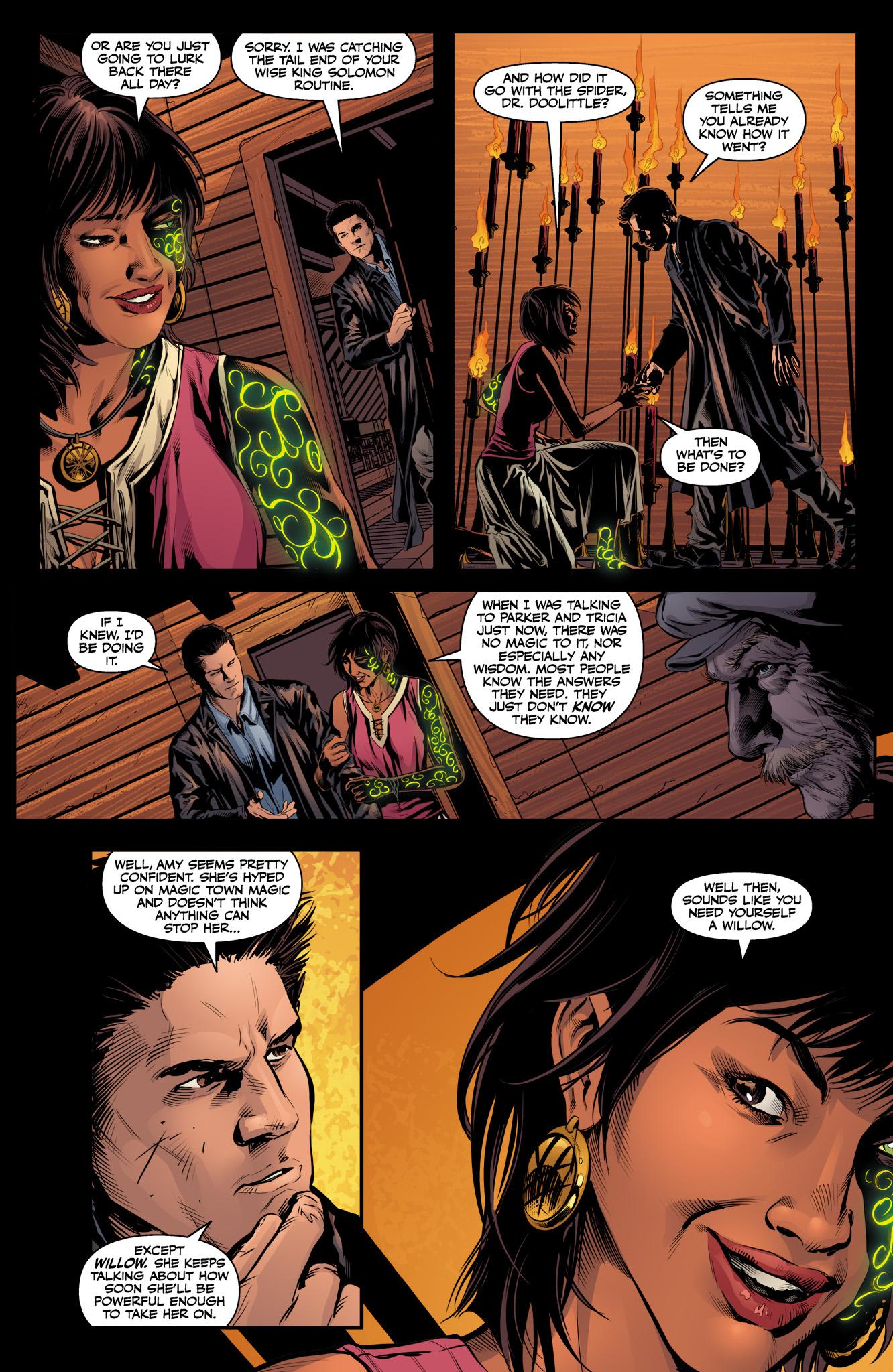 Read online Angel & Faith Season 10 comic -  Issue #10 - 12