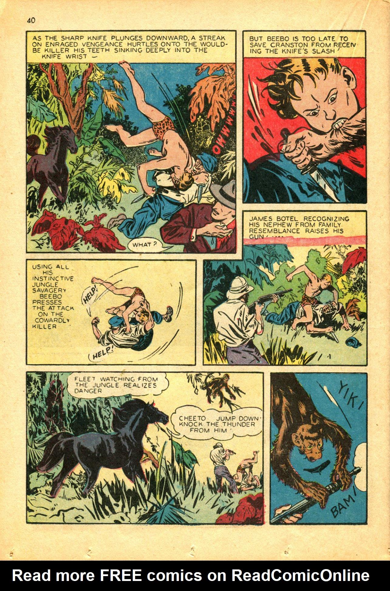 Read online Shadow Comics comic -  Issue #30 - 40