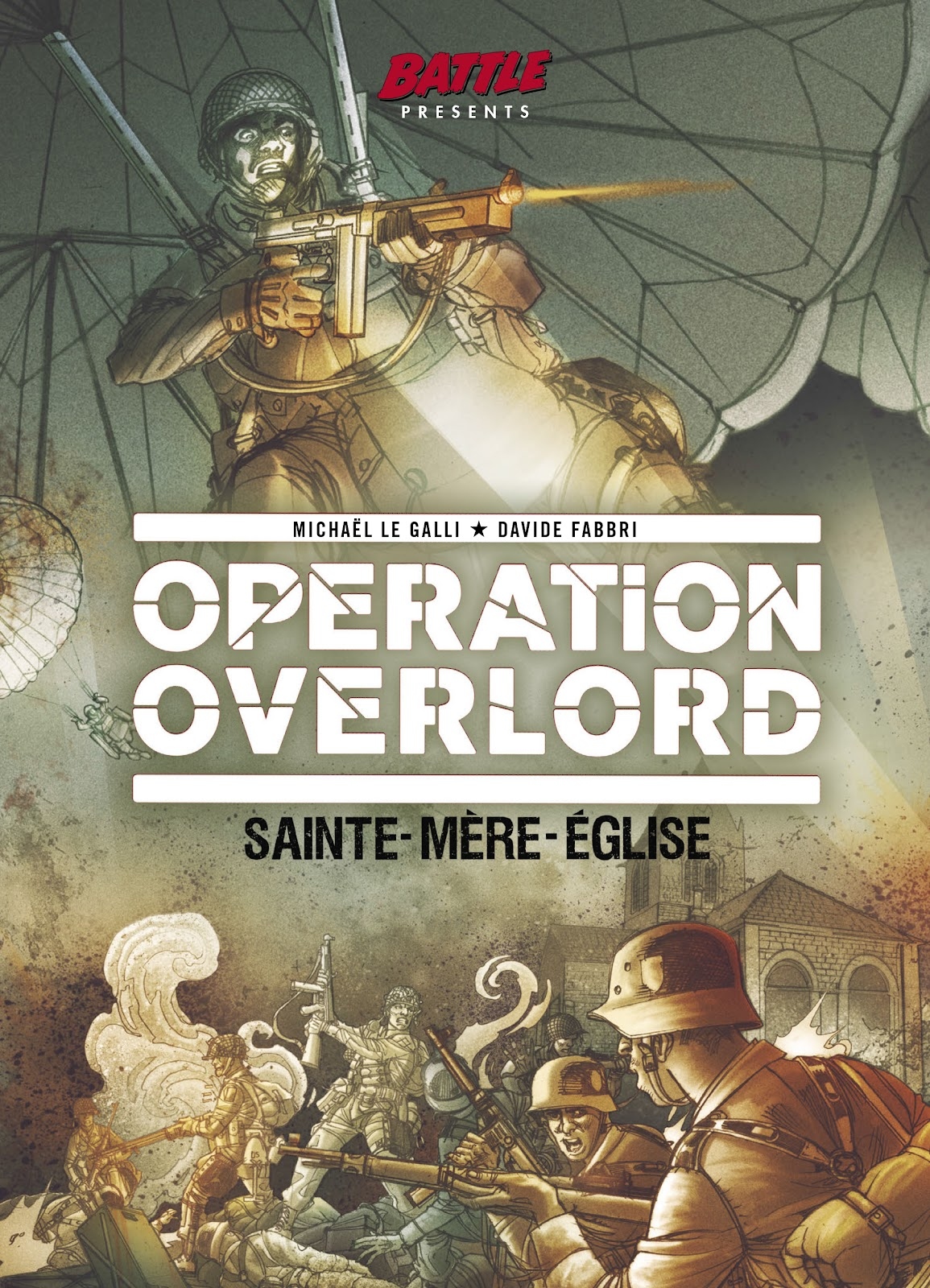 Read online Opération Overlord comic -  Issue #1 - 1