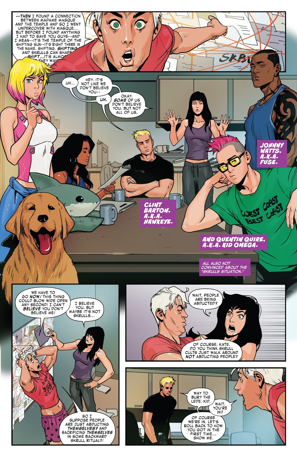 Read online West Coast Avengers (2018) comic -  Issue #8 - 6