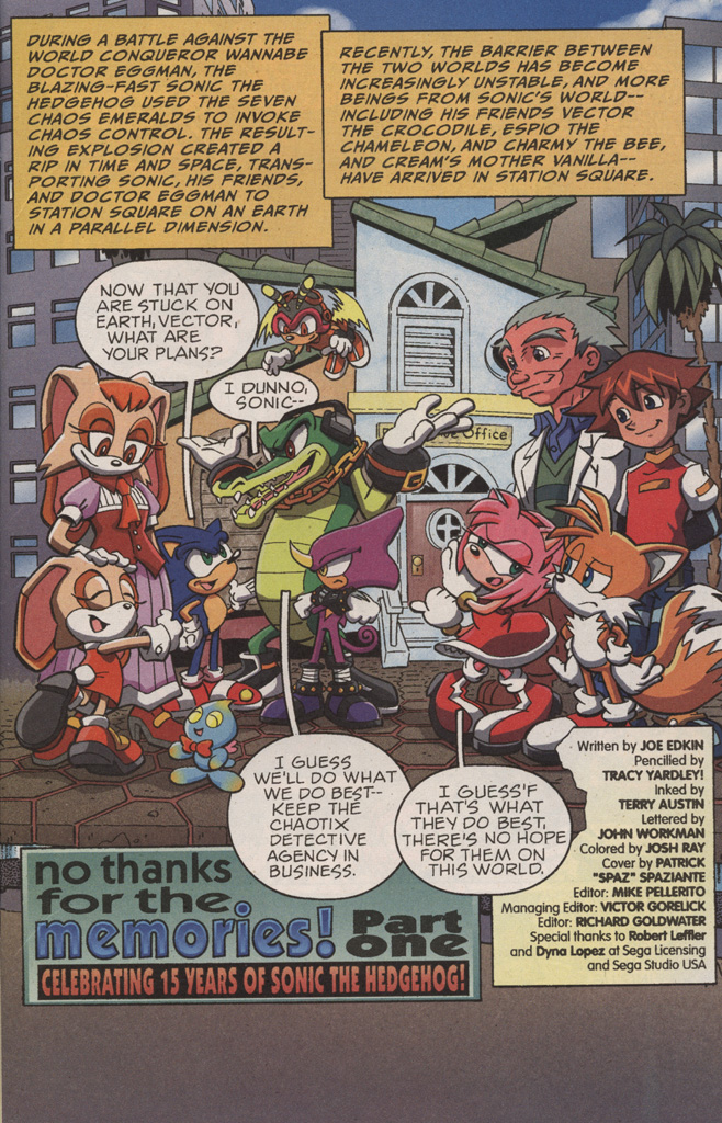 Read online Sonic X comic -  Issue #10 - 3