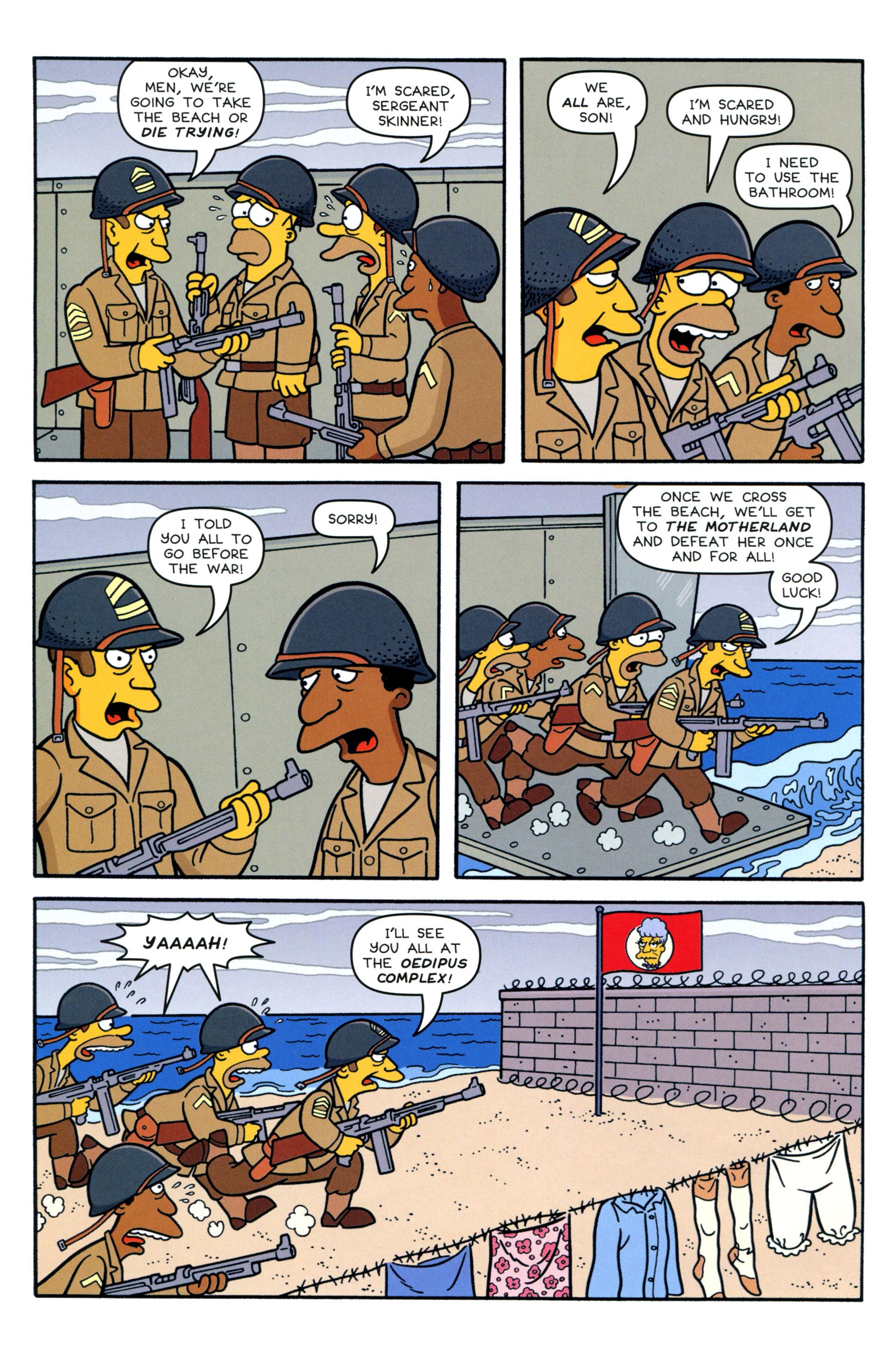 Read online Simpsons Comics comic -  Issue #207 - 22