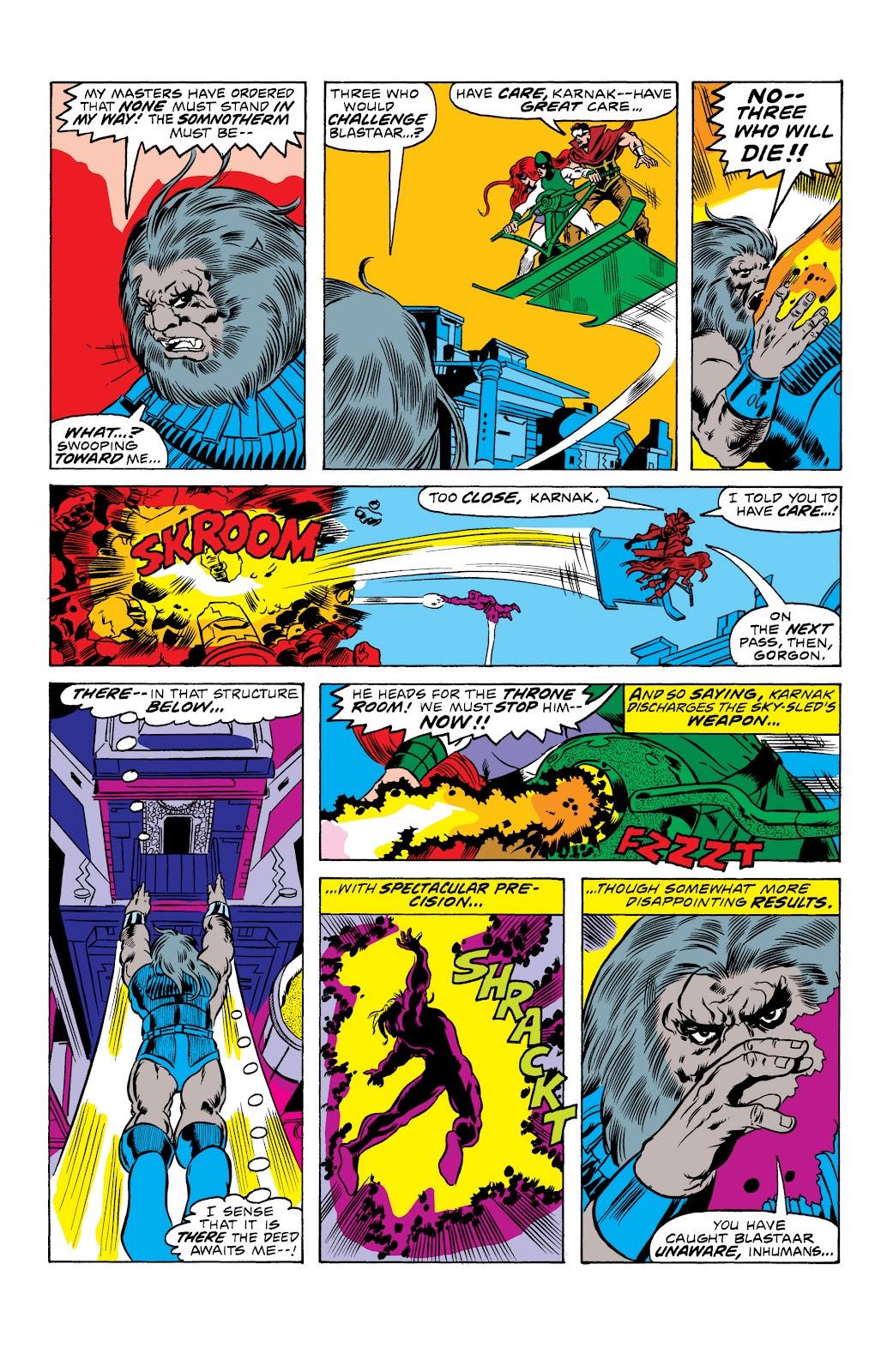 Read online Marvel Masterworks: The Inhumans comic -  Issue # TPB 2 (Part 1) - 23