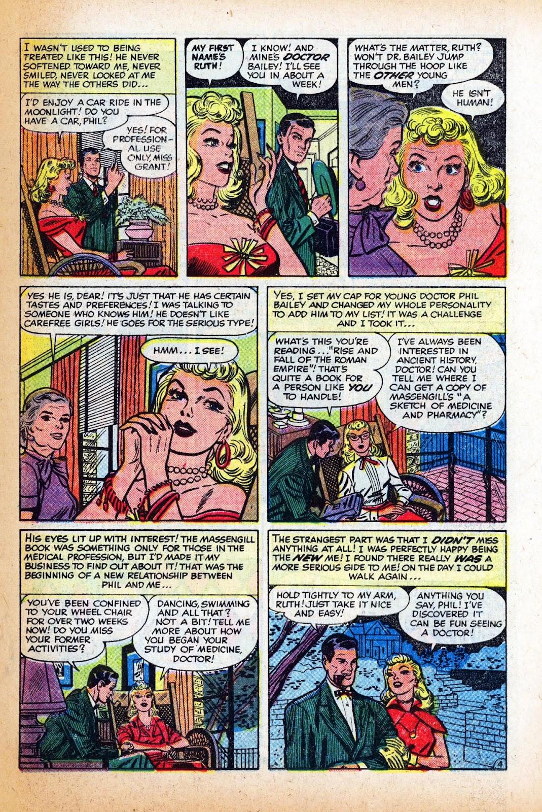 Love Romances (1949) issue 47 - Page 23